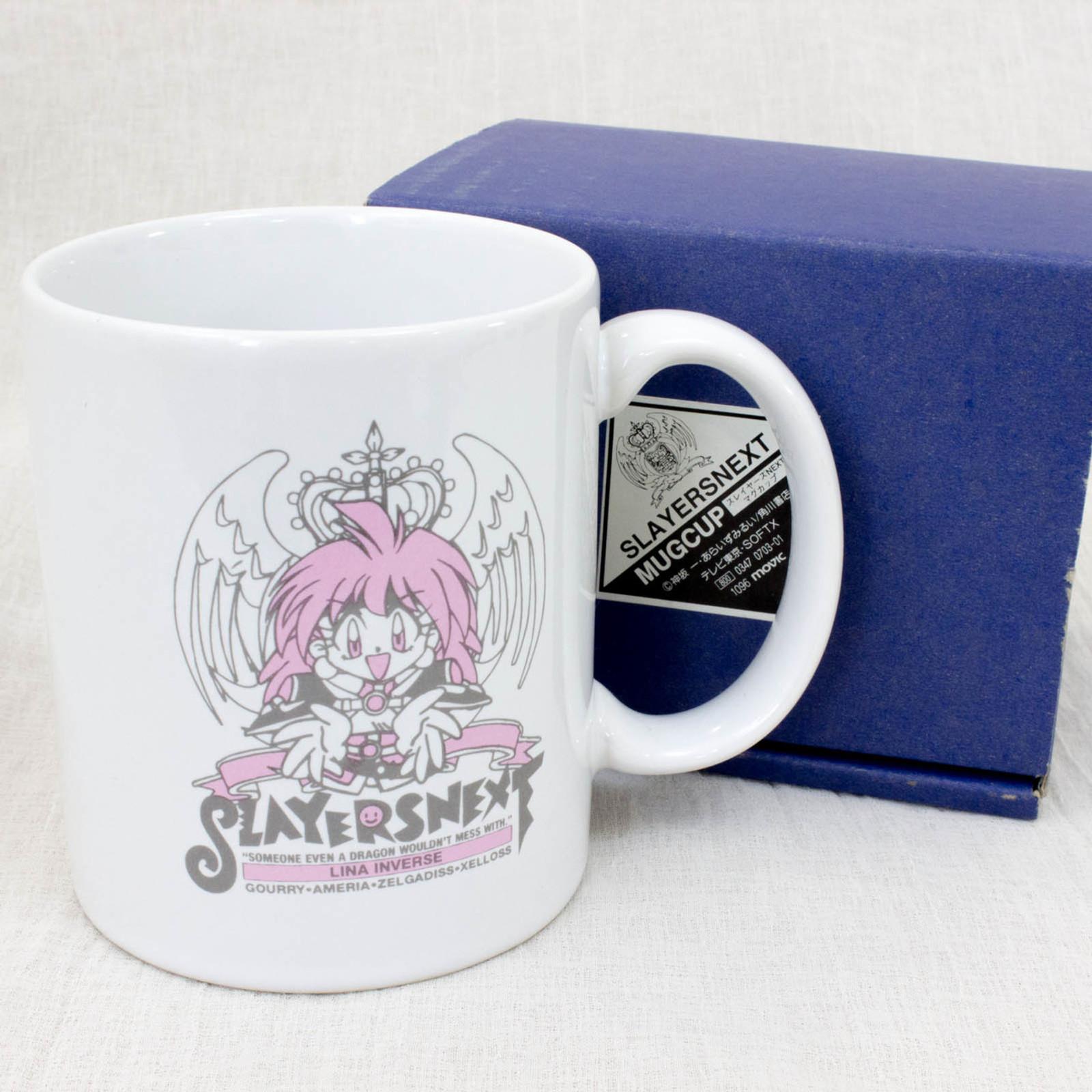 Slayers NEXT Mug Lina Inverse Xellos Amelia Gourry Zelgadiss JAPAN ANIME MANGA