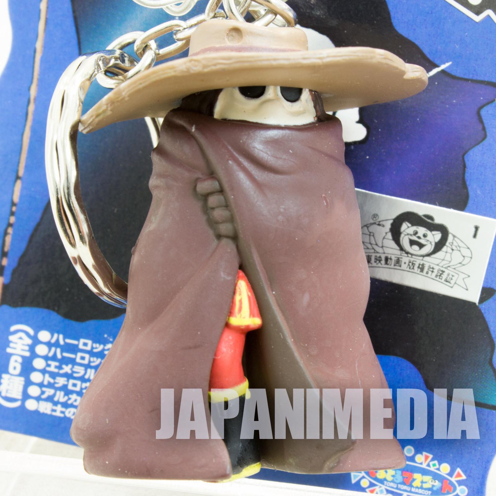 Space Pirate Captain Harlock Tochiro Figure Key Chain JAPAN ANIME MANGA