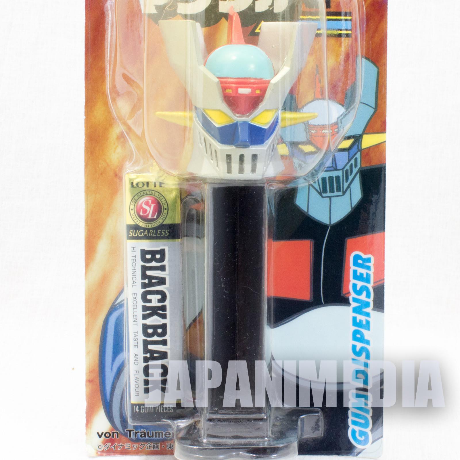 """RARE! Mazinger  Ver. Gum Dispenser 6"""" Figure JAPAN GAME PEZ"""