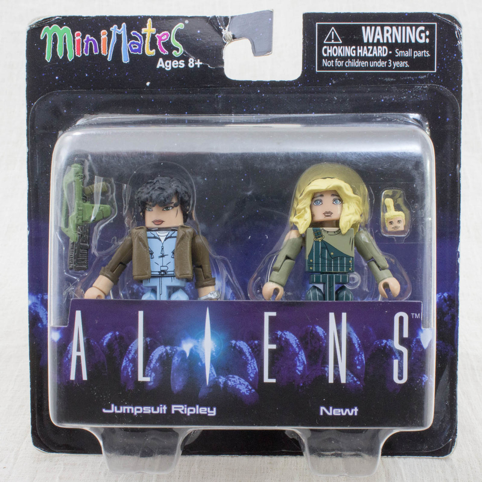 ALIENS Jumpsuit Ripley Newt 2pc Set Figure Minimates DIAMOND SELECT TOYS