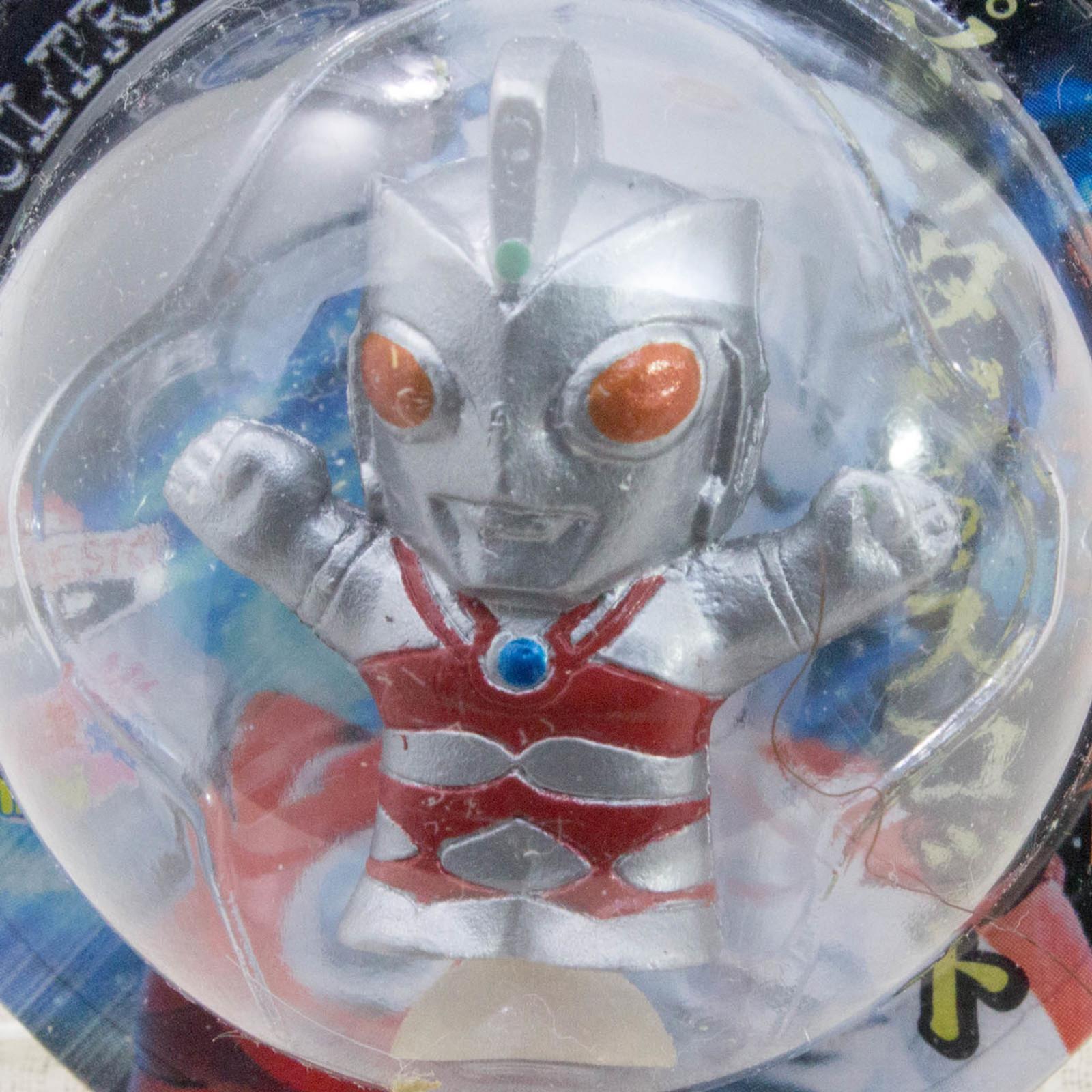 "Ultraman Ace 1.2"" Mini Figure with Sucker Tsuburaya JAPAN TOKUSATSU ANIME"