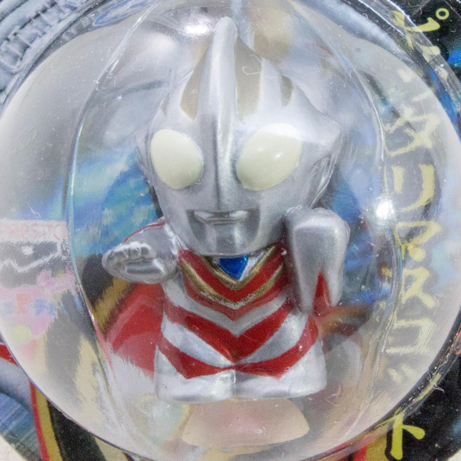 "Ultraman Gaia 1.2"" Mini Figure with Sucker Tsuburaya JAPAN TOKUSATSU ANIME"
