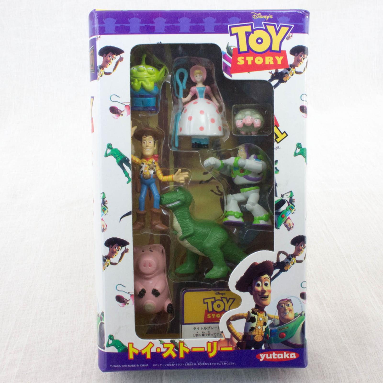 RARE! Disney Pixar Toy Story Movie Friends Mini Figure Set Yutaka JAPAN