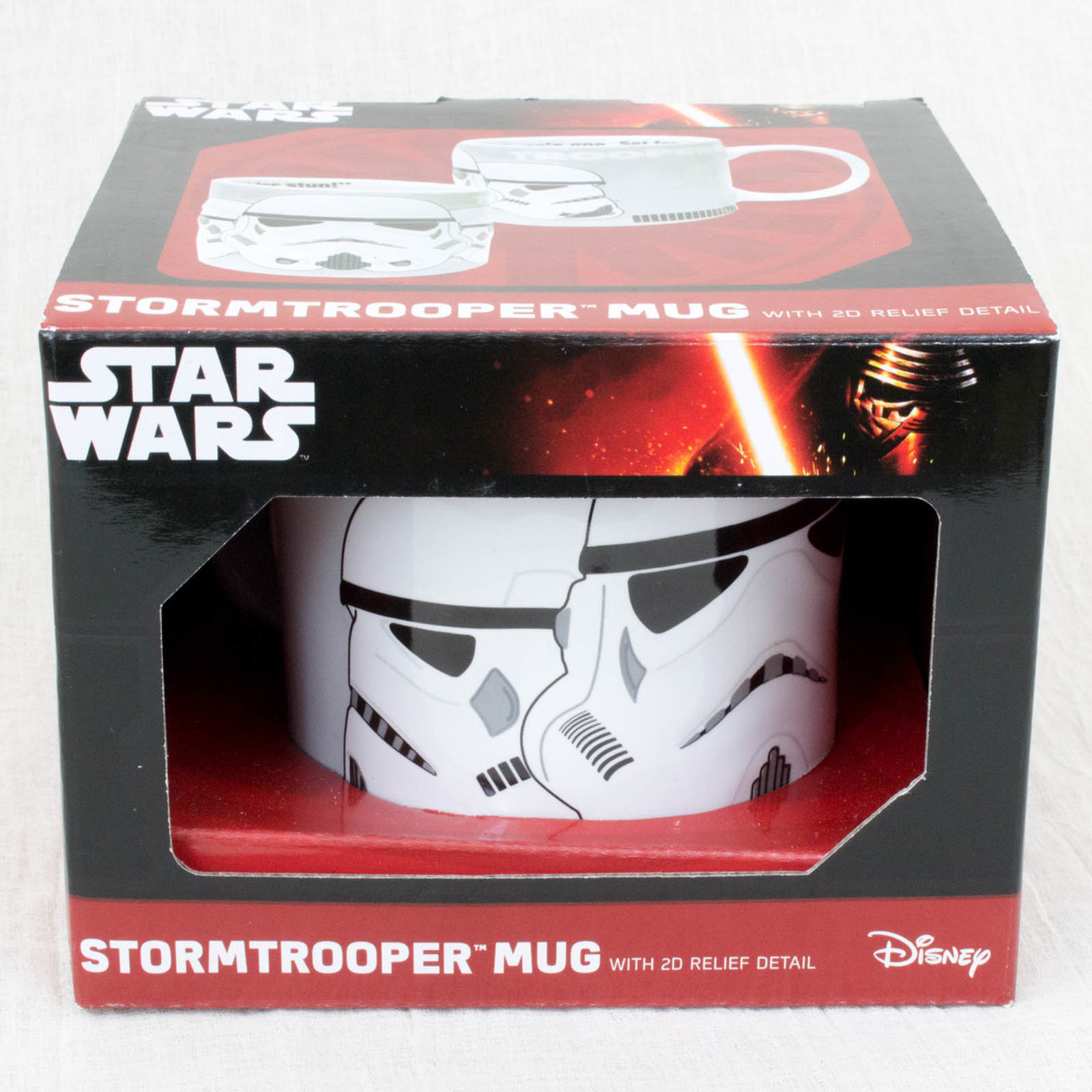 STAR WARS Stormtrooper Ceramic 2D Relief Mug Hot Toys ZEON MOVIE SF