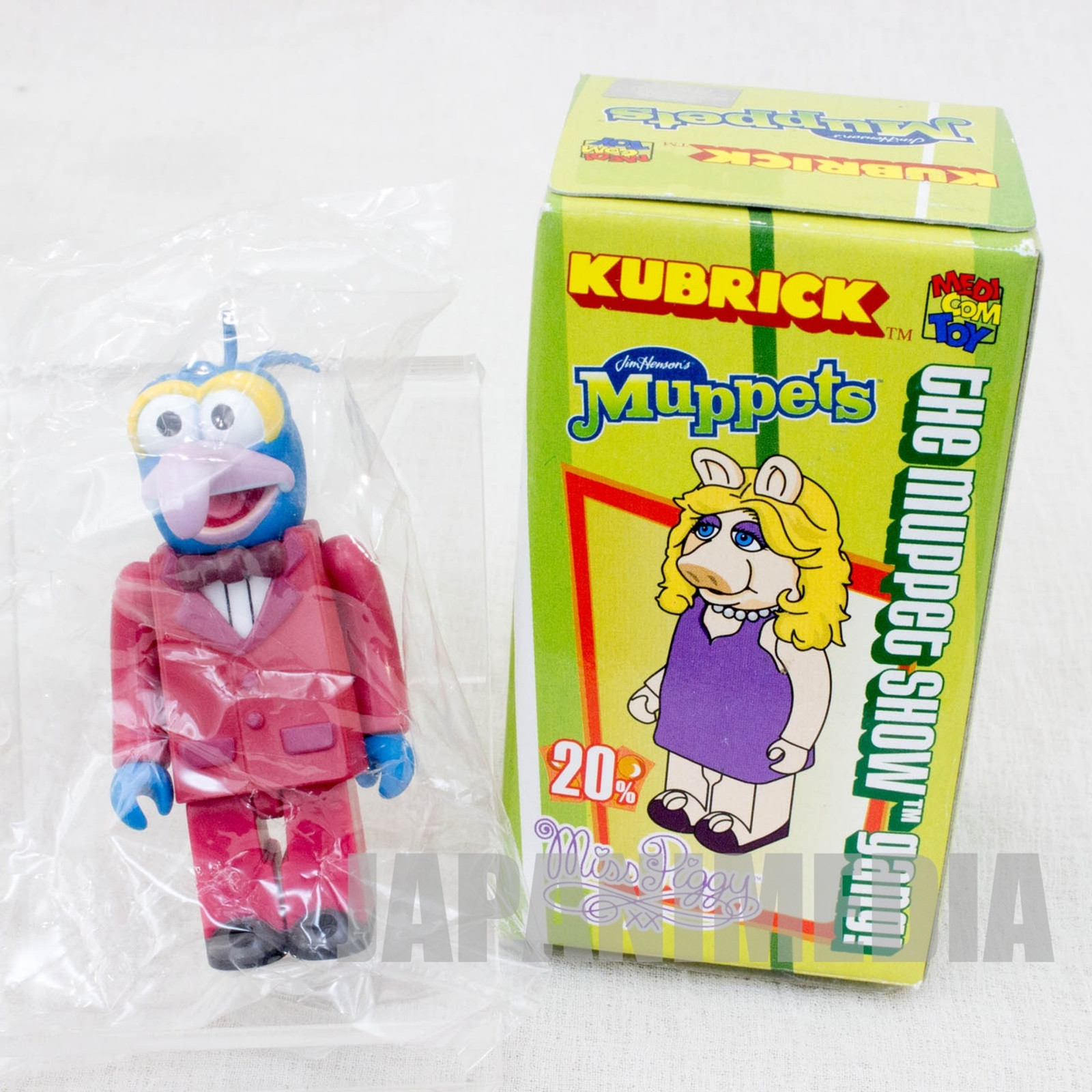 MUPPETS The Great Gonzs Kubrick Medicom Toy JAPAN FIGURE