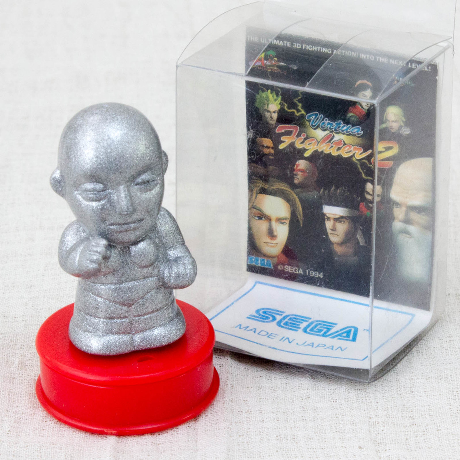 Virtua Fighter 2 Dural Mascot Stamp SEGA 1994 JAPAN GAME FIGURE