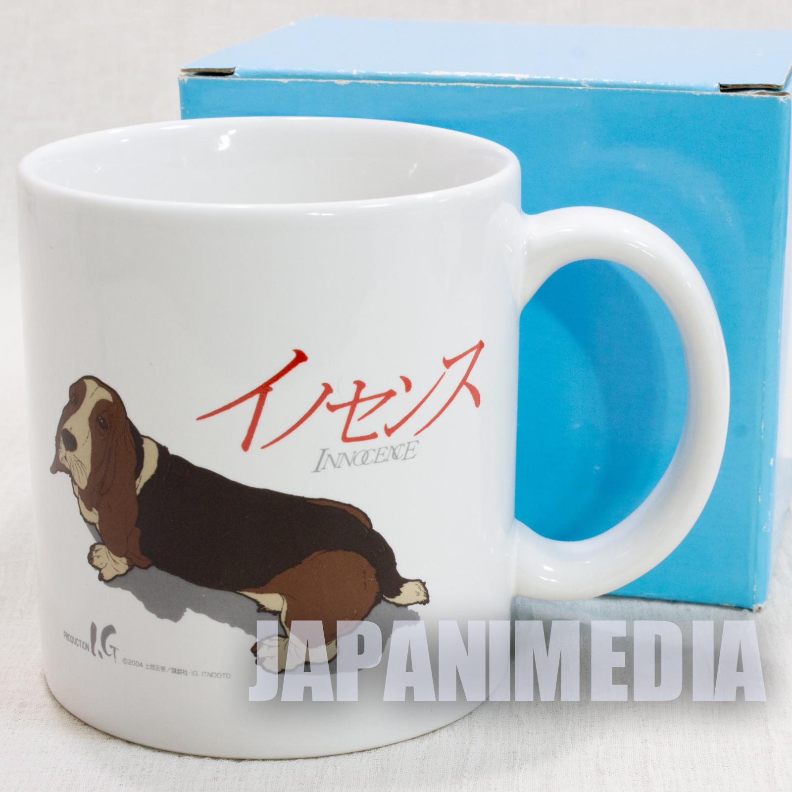 Innocence Ghost in the Shell Mug Batou's Dog Shirow Masamune JAPAN