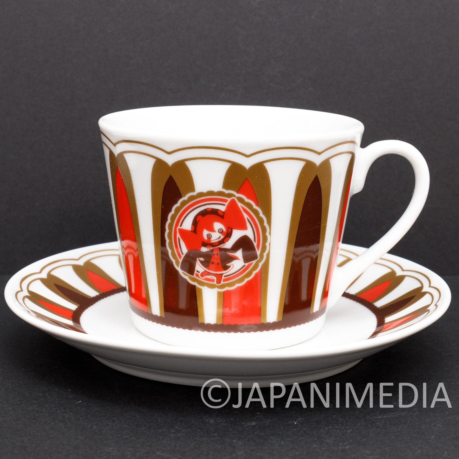 Puella Magi Madoka Magica Sweet Witch Charlotte Bebe Tea cup & Saucer JAPAN