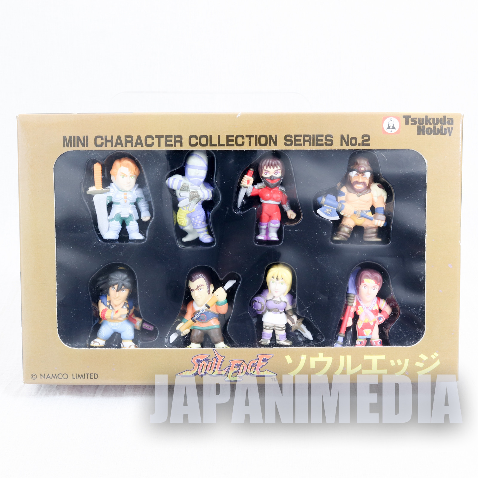 RARE! Soul Edge Mini Figure 8pc Set Namco Character Collection JAPAN GAME