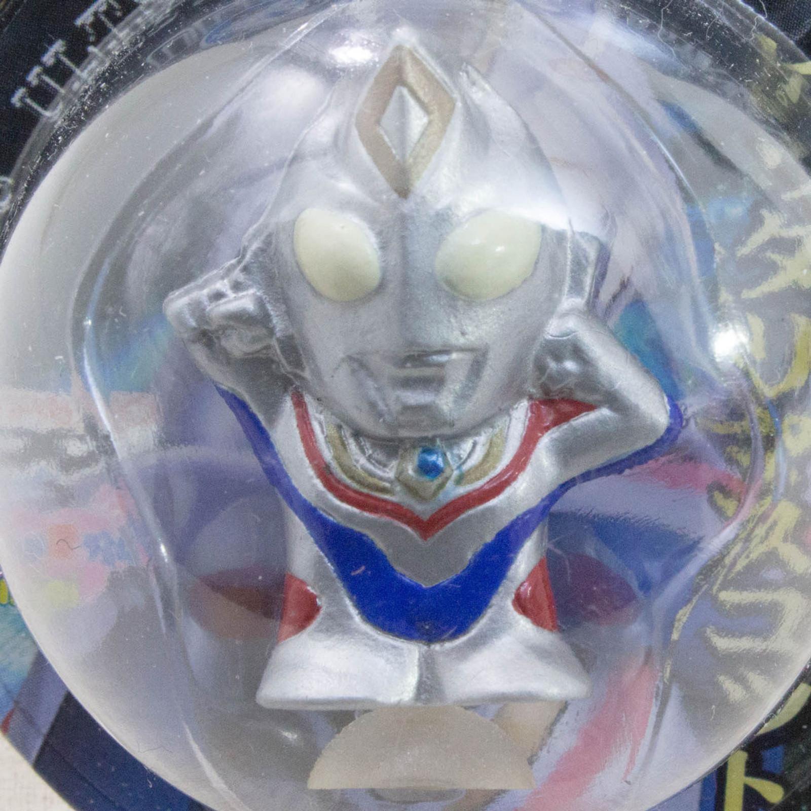"""Ultraman Dyna 1.2"""" Mini Figure with Sucker Tsuburaya JAPAN TOKUSATSU ANIME"""