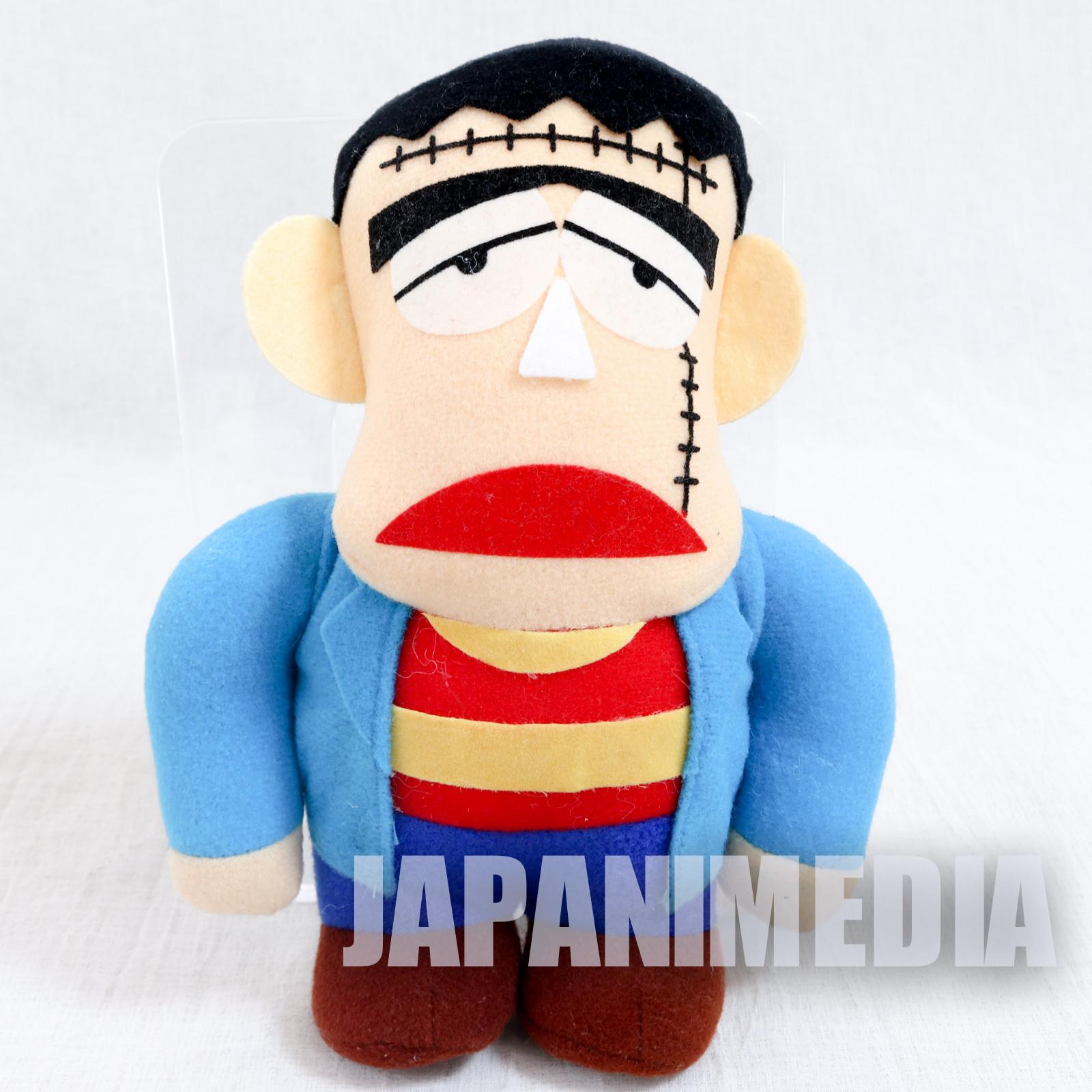 "The Monster Kid Franken Plush Doll 7"" Banpresto 1992 Fujiko Fujio JAPAN"