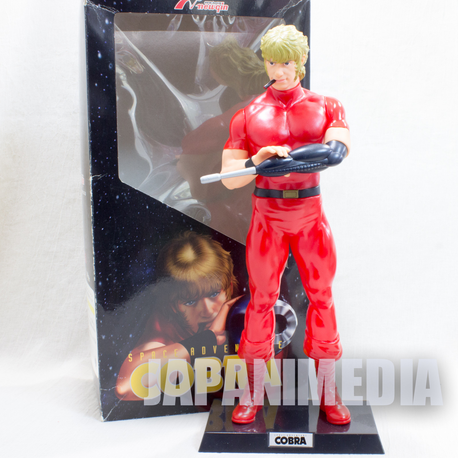 "Space Adventure Cobra 12"" Figure Newgin Inspire JAPAN ANIME MANGA"
