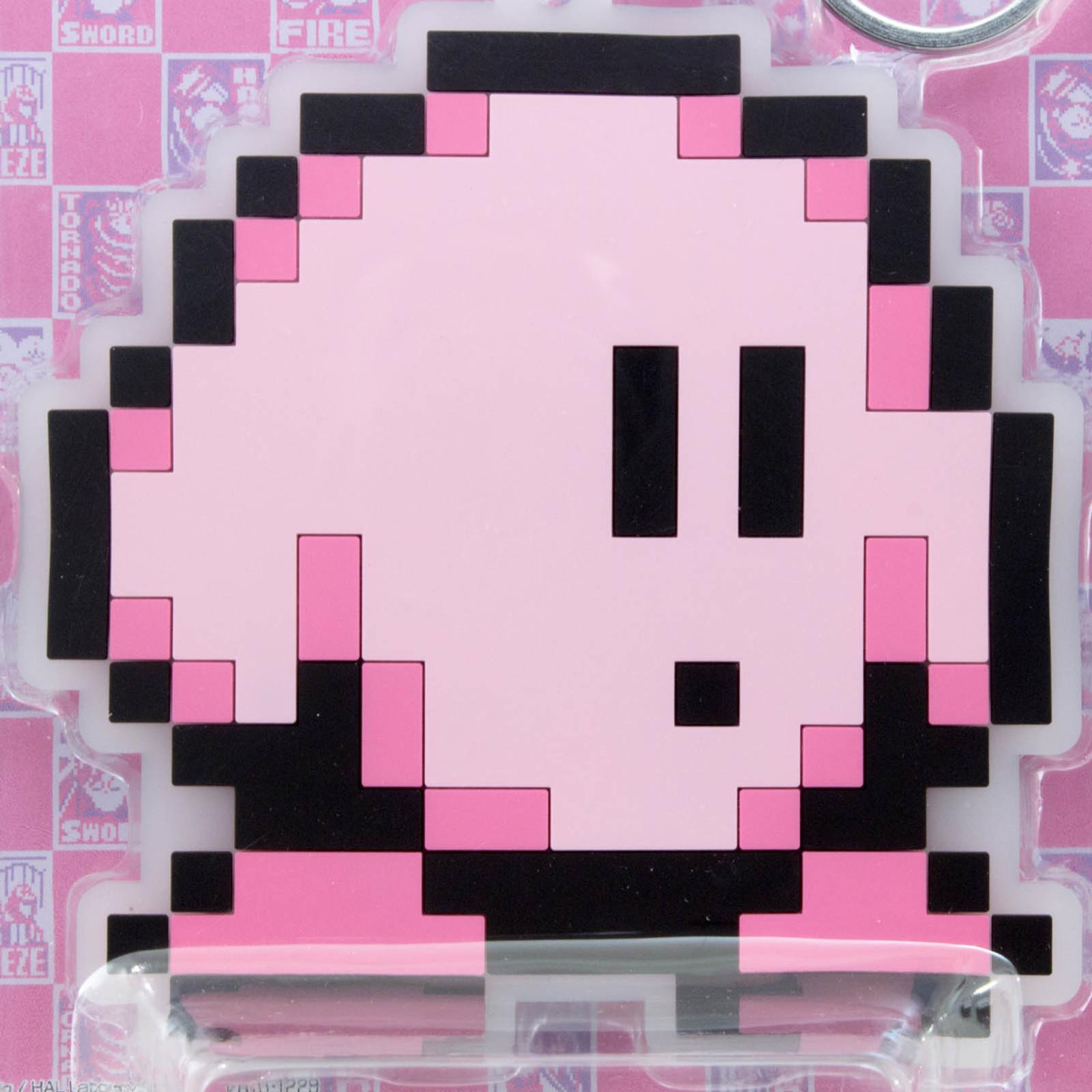Kirby Super Star Big Rubber Mascot Key Chain Banpresto JAPAN GAME NINTNEDO