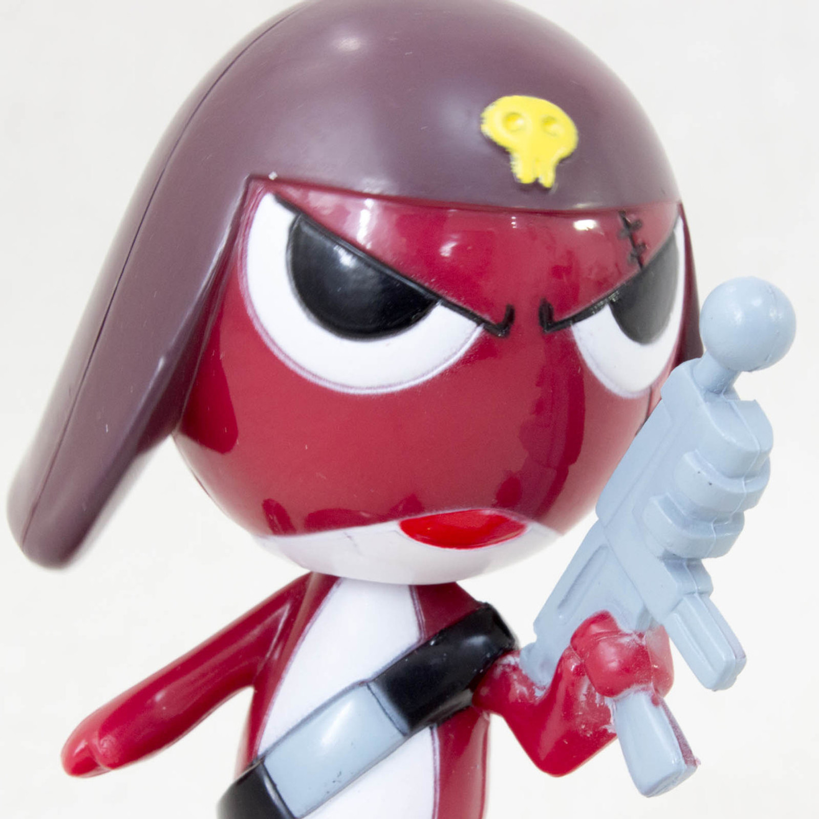 Sgt. Frog Keroro Gunso GIRORO Swing Bubble Head Figure JAPAN ANIME MANGA