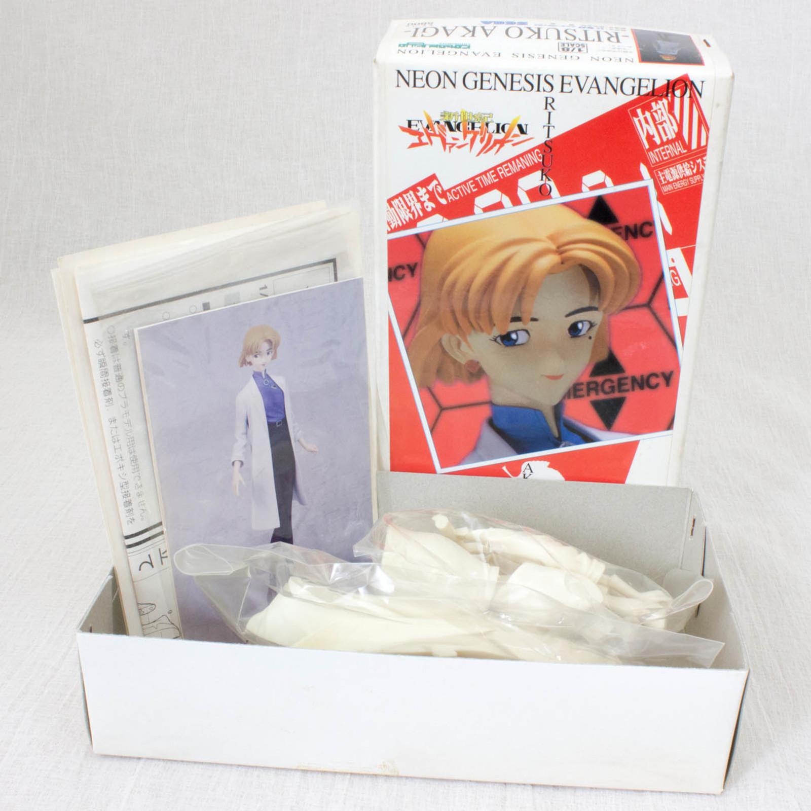 Retro Rare Evangelion Ritsuko Akagi 1/8 Resin Cast Model Kit SEGA JAPAN ANIME