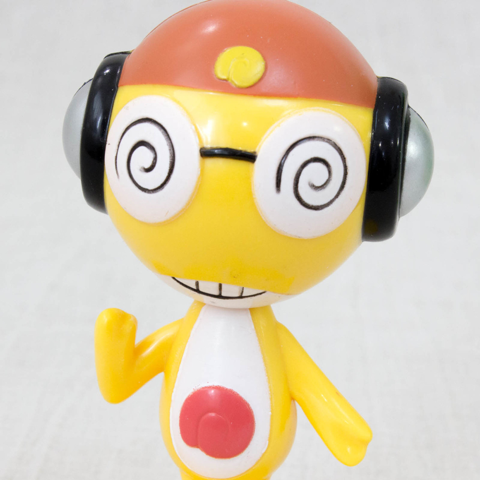 Sgt. Frog Keroro Gunso KURURU Swing Bubble Head Figure JAPAN ANIME MANGA