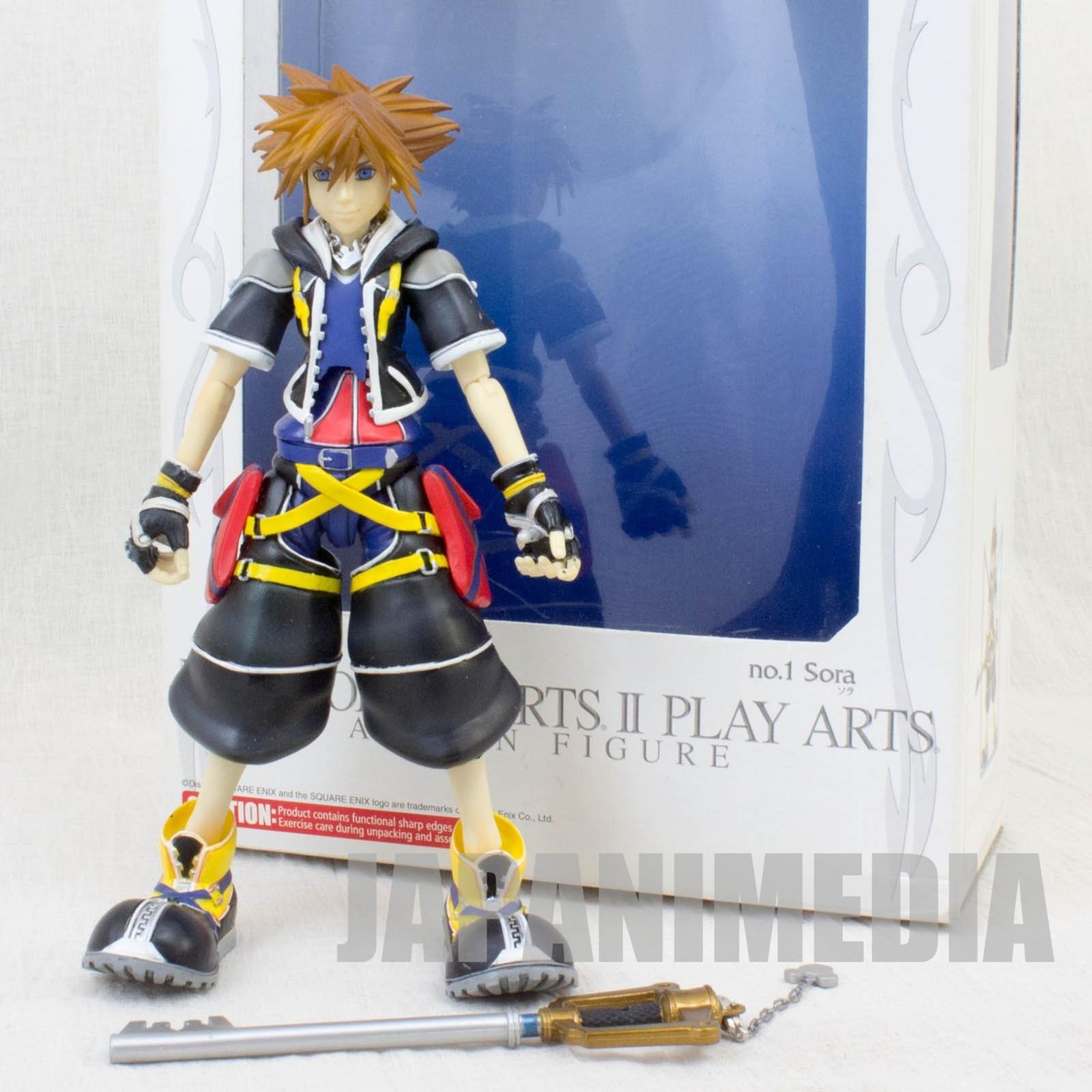 Kingdom Hearts SORA Action Figure Play Arts Square Enix JAPAN GAME
