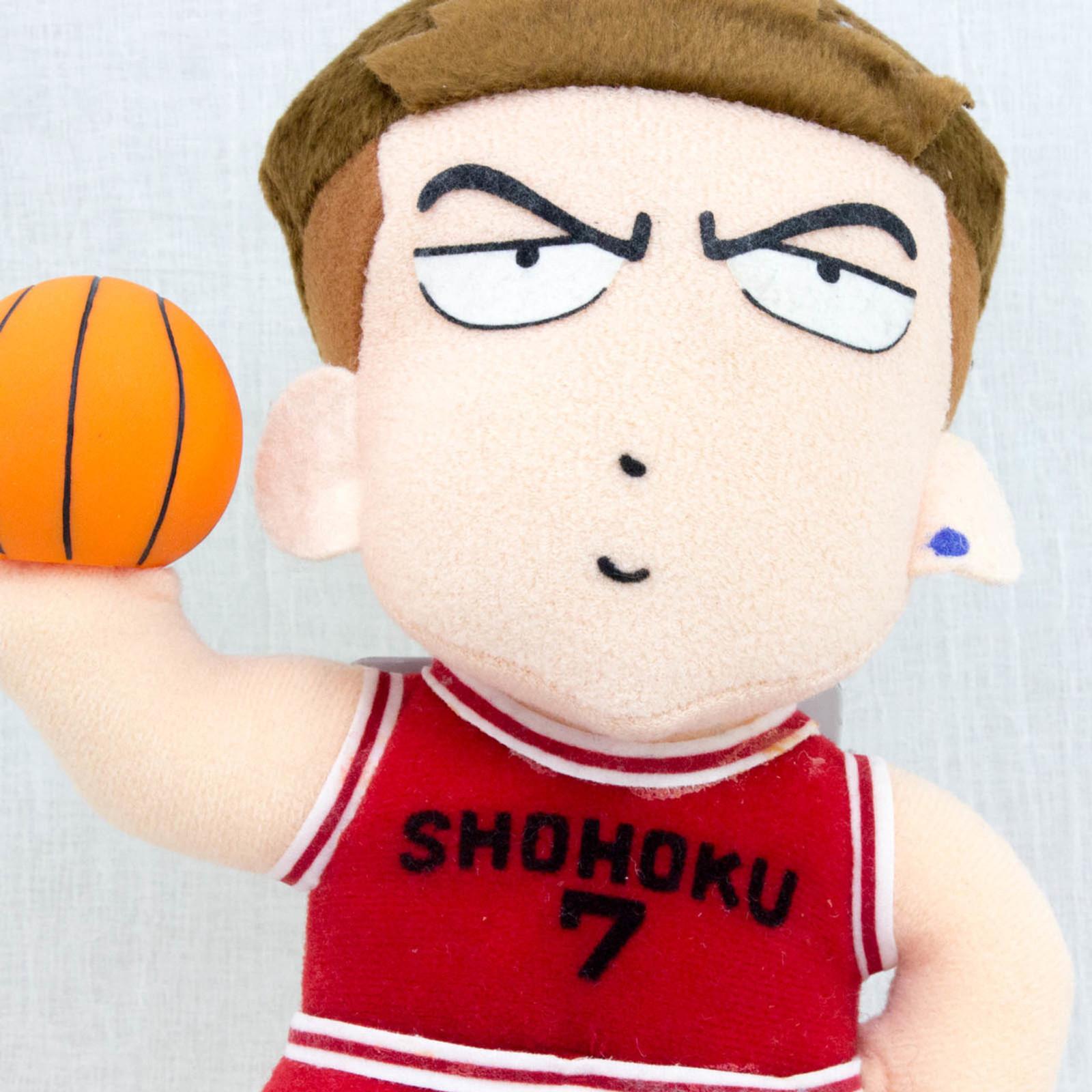 SLAM DUNK Ryota Miyagi Shohoku #7 Plush Doll JAPAN ANIME MANGA JUMP