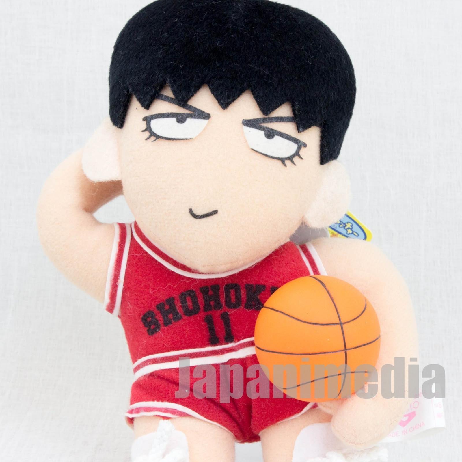 SLAM DUNK Kaede Rukawa Shohoku #11 Plush Doll JAPAN ANIME MANGA JUMP