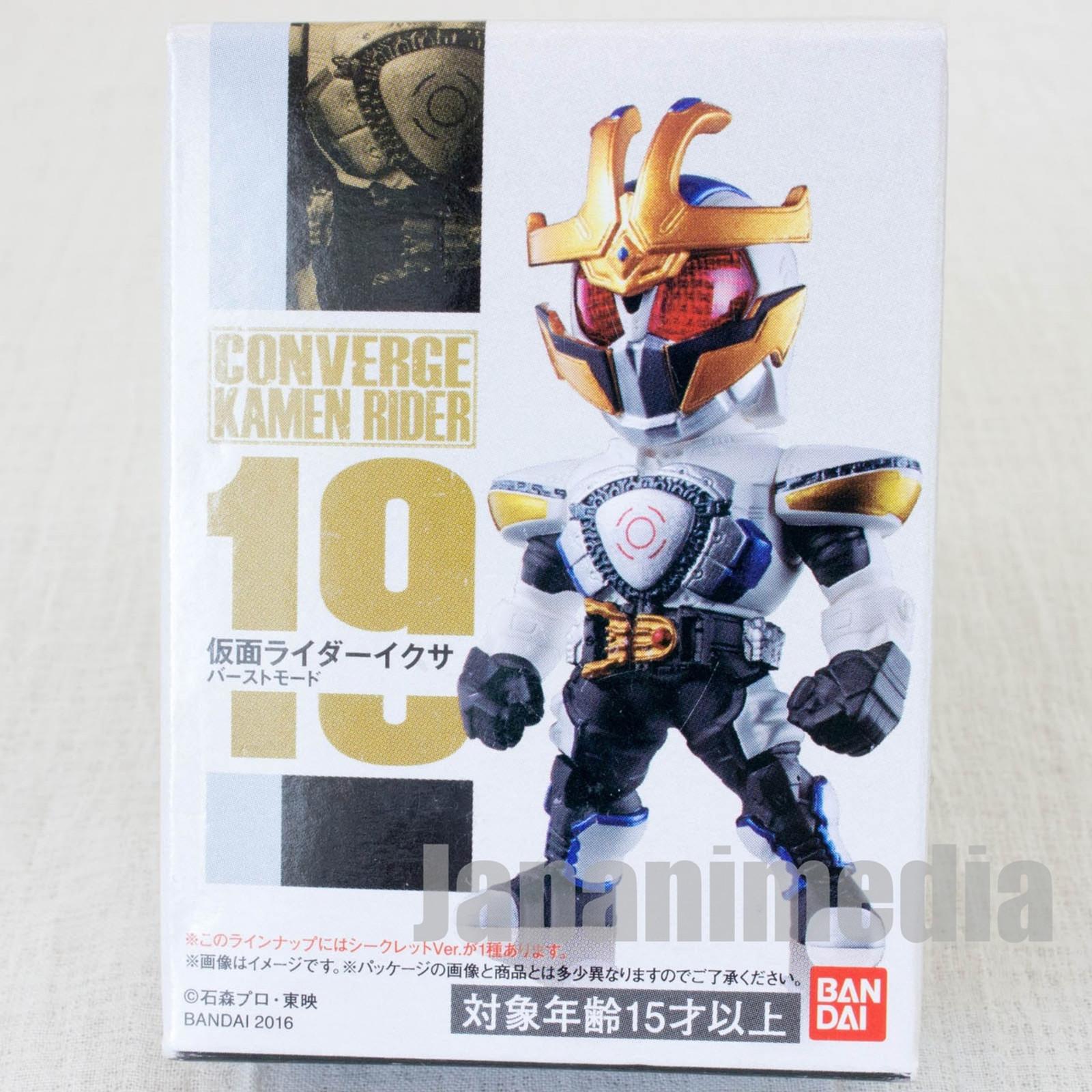 Kamen Rider Ixa Converge Kamen Rider #19 Burst mode Mini Figure Bandai JAPAN TOKUSATSU