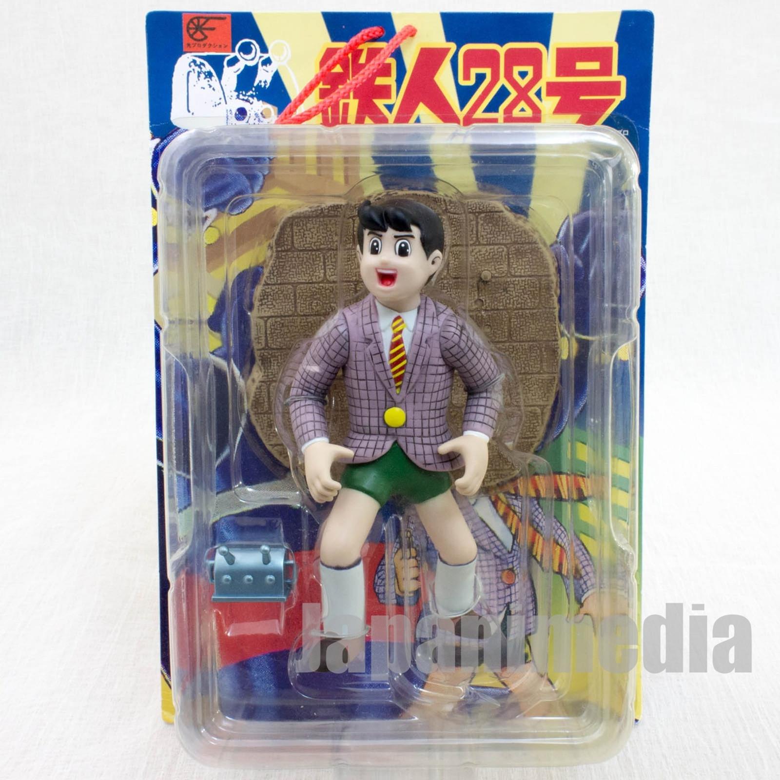 Gigantor Tetsujin 28 Shotaro Kaneda Soft Figure Mitsuteru Yokoyama SEGA JAPAN ANIME