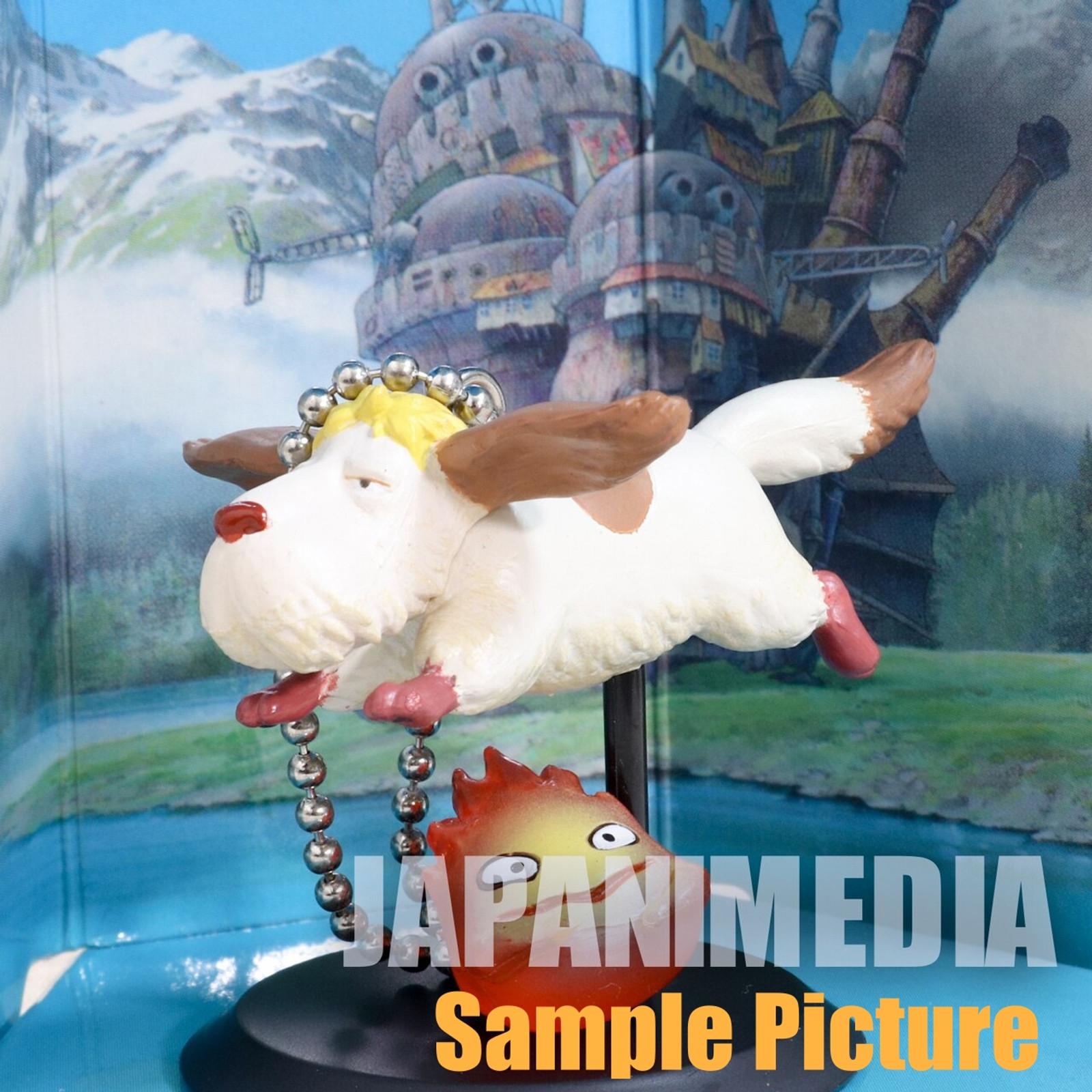 Howl's Moving Castle Heen & Calcifer Figure Key Chain Cominica Ghibli JAPAN