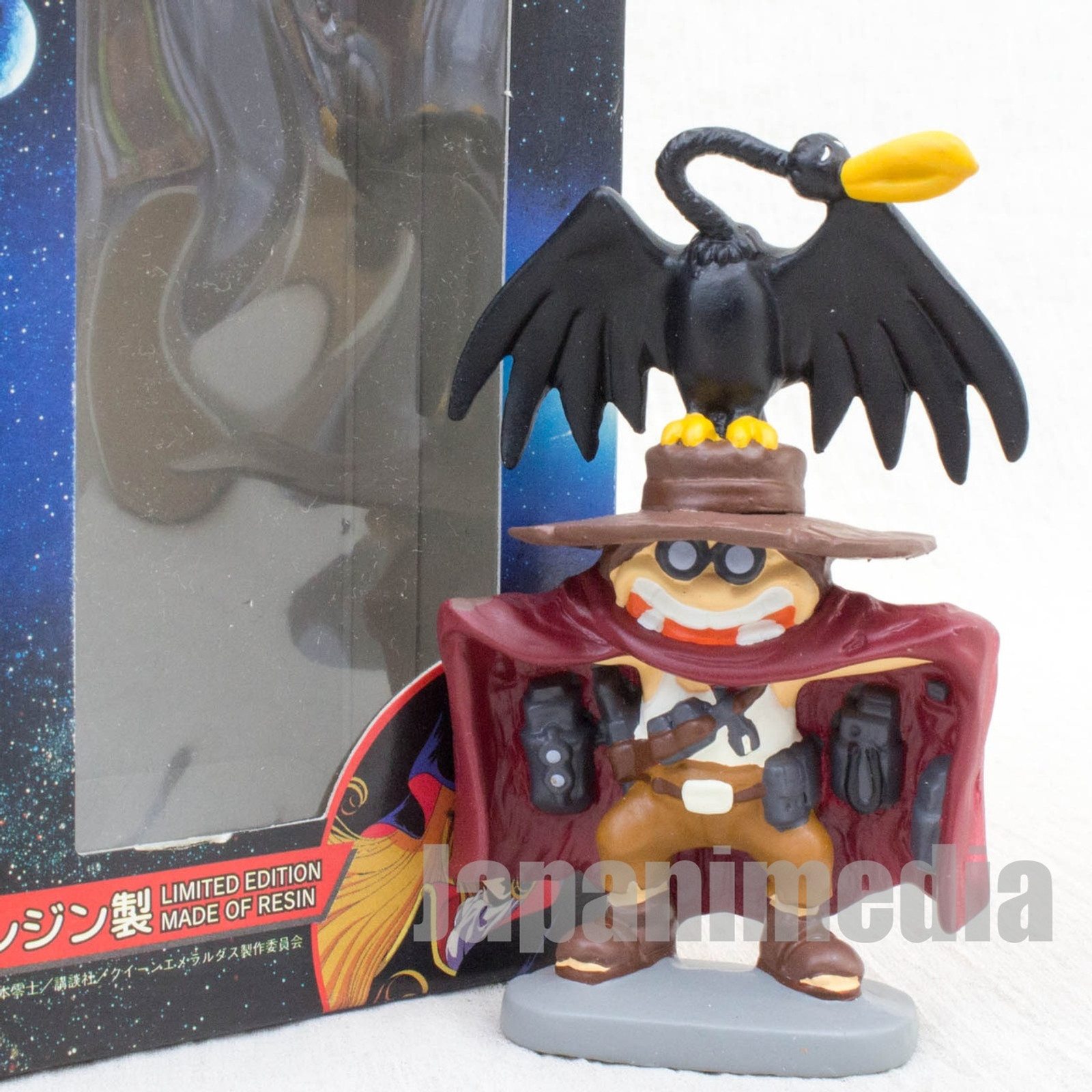 Queen Emeraldas Tochiro & Tori-san Resin Figure Reiji Matsumoto JAPAN ANIME