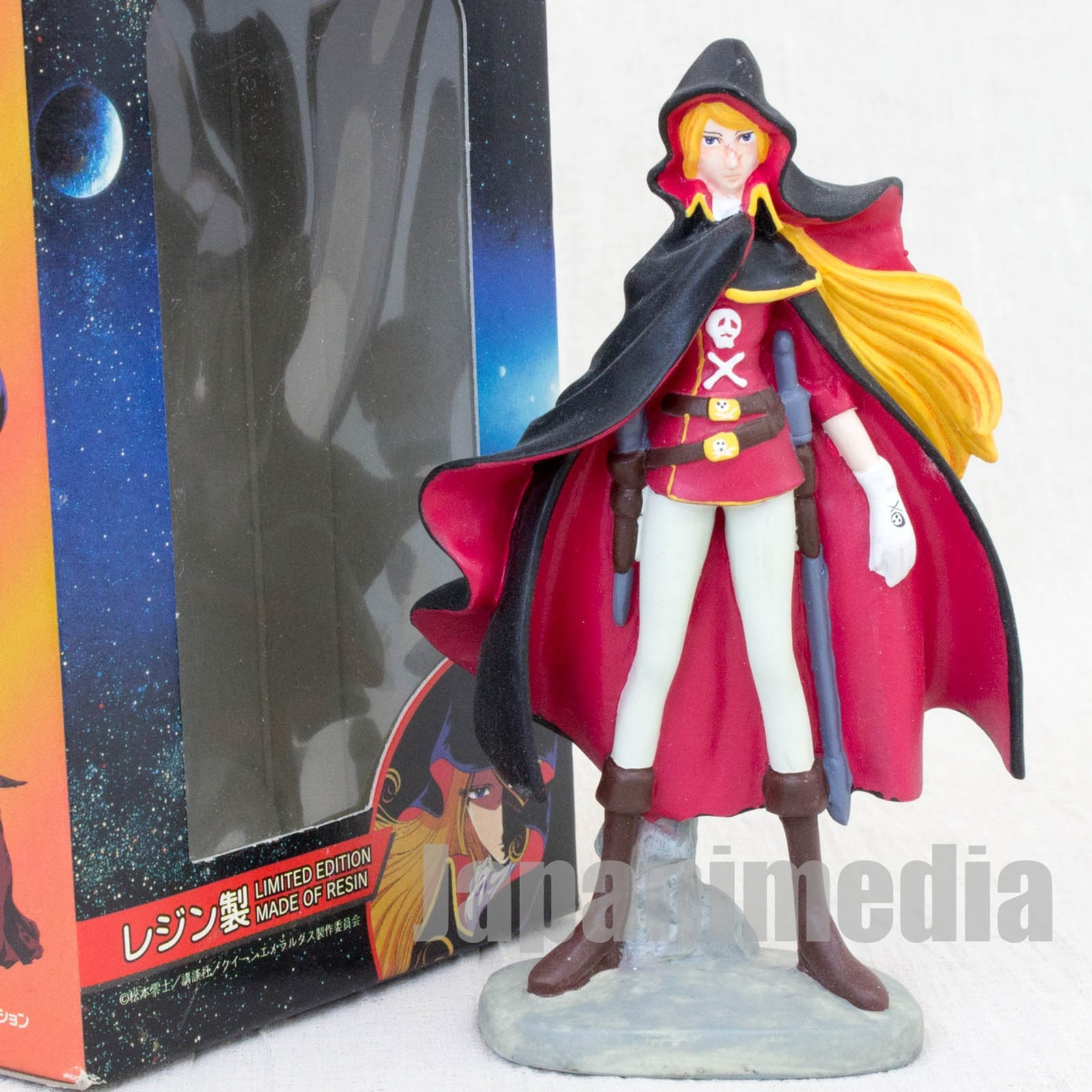 Queen Emeraldas EMERALDAS Resin Figure Reiji Matsumoto JAPAN ANIME