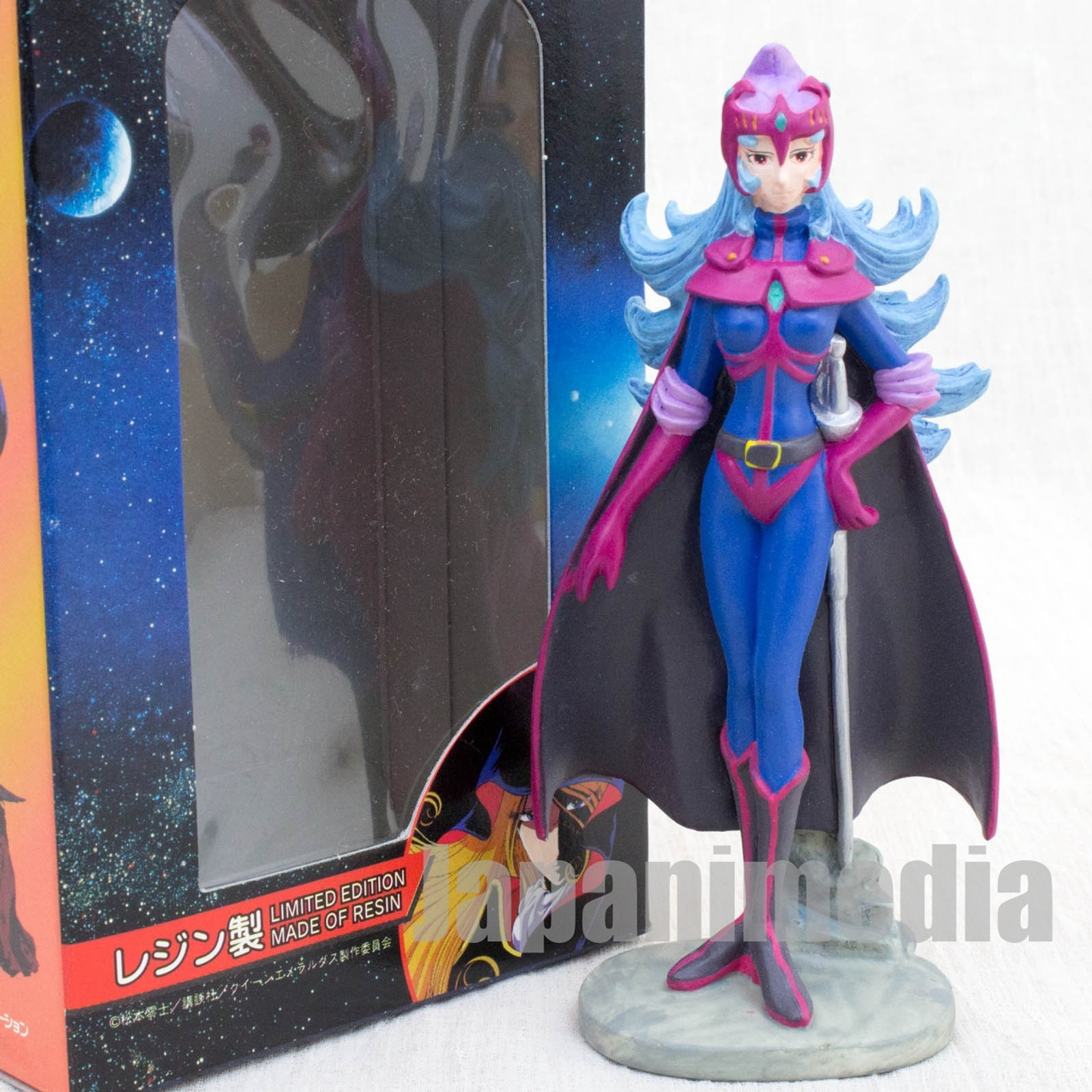 Queen Emeraldas Balaruda Resin Figure Reiji Matsumoto JAPAN ANIME