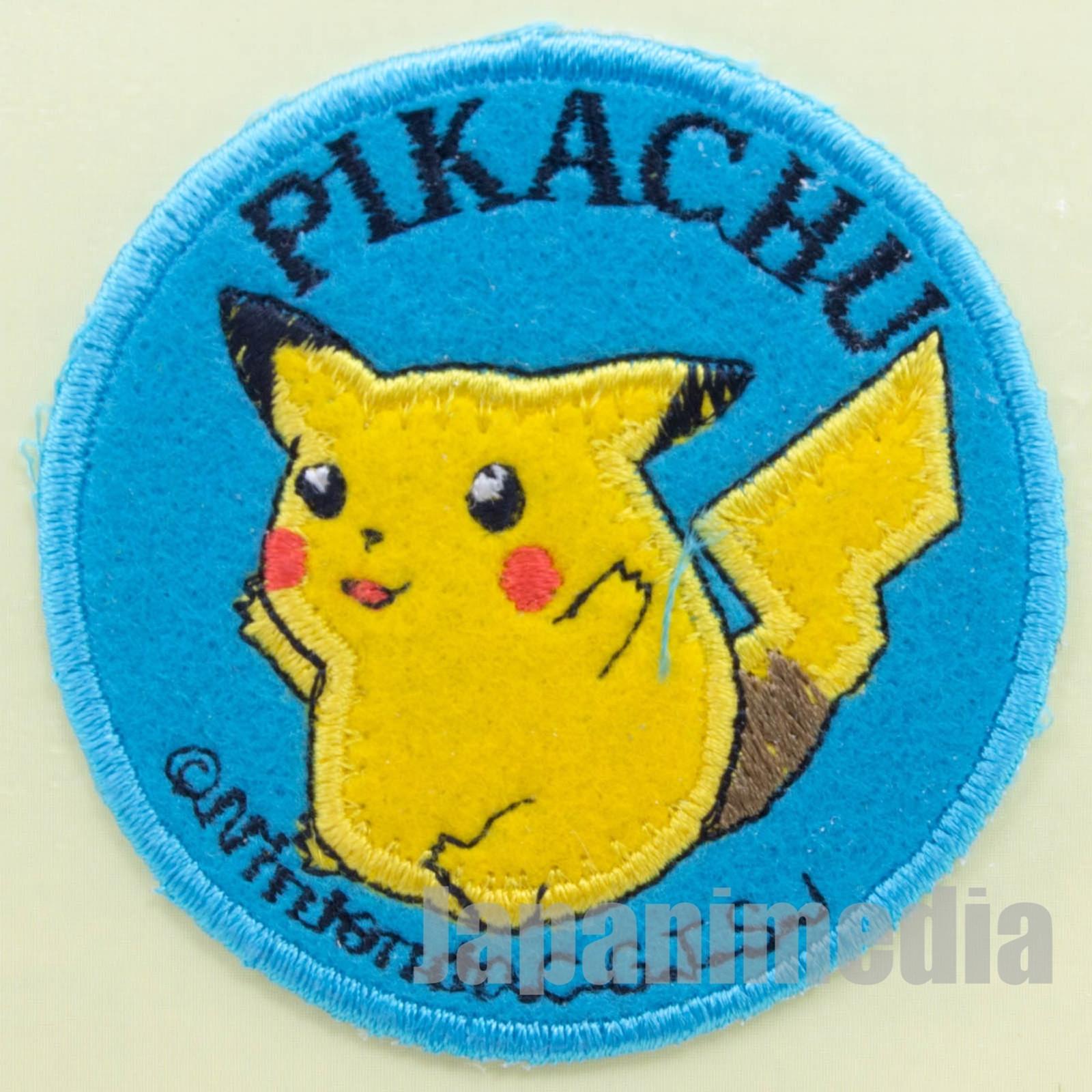 Pokemon Pikachu Interfacing Patch Badge Pocket Monsters JAPAN ANIME GAME