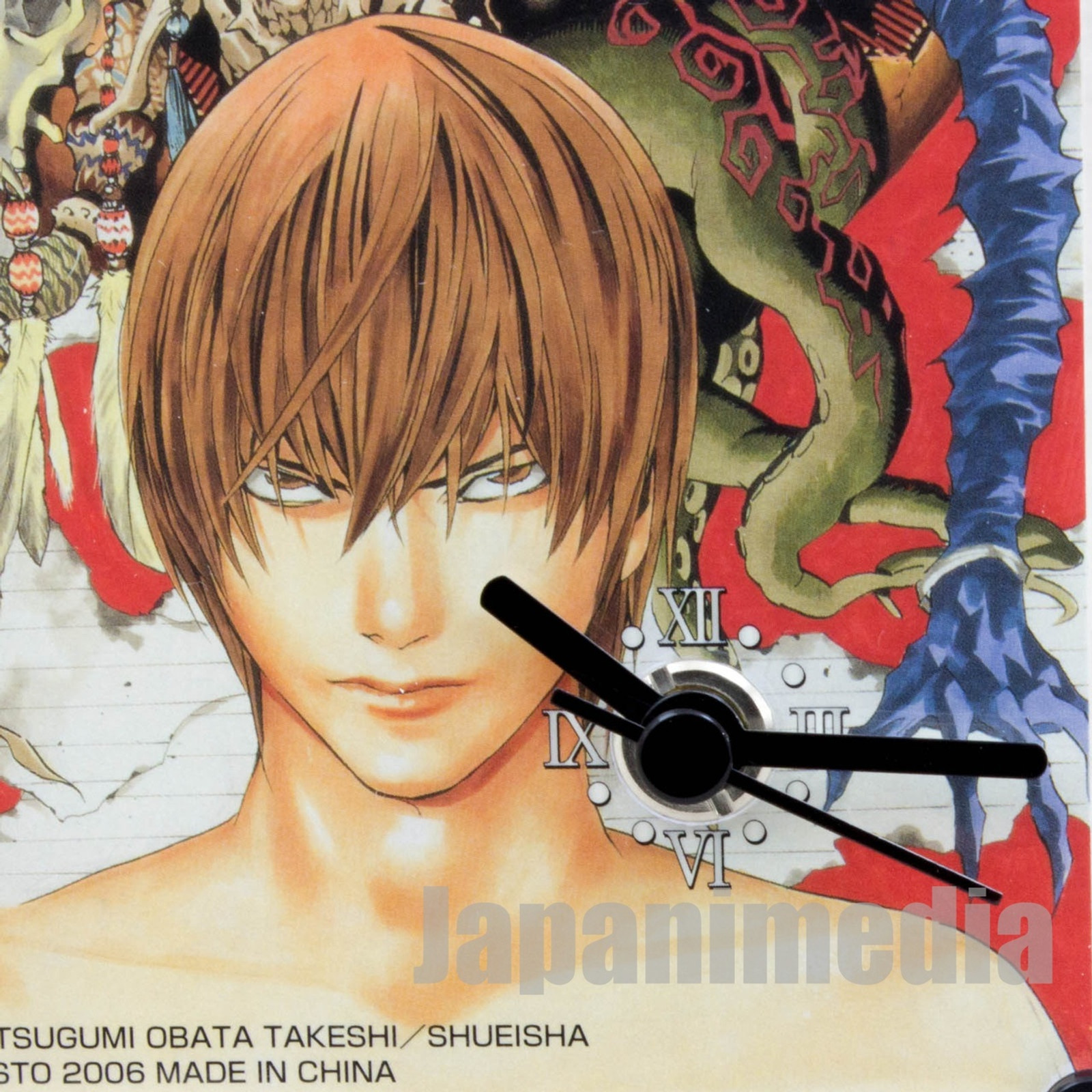 Death Note Picture Desktop Clock Yagami Light & Shinigami Banpresto JAPAN GAME