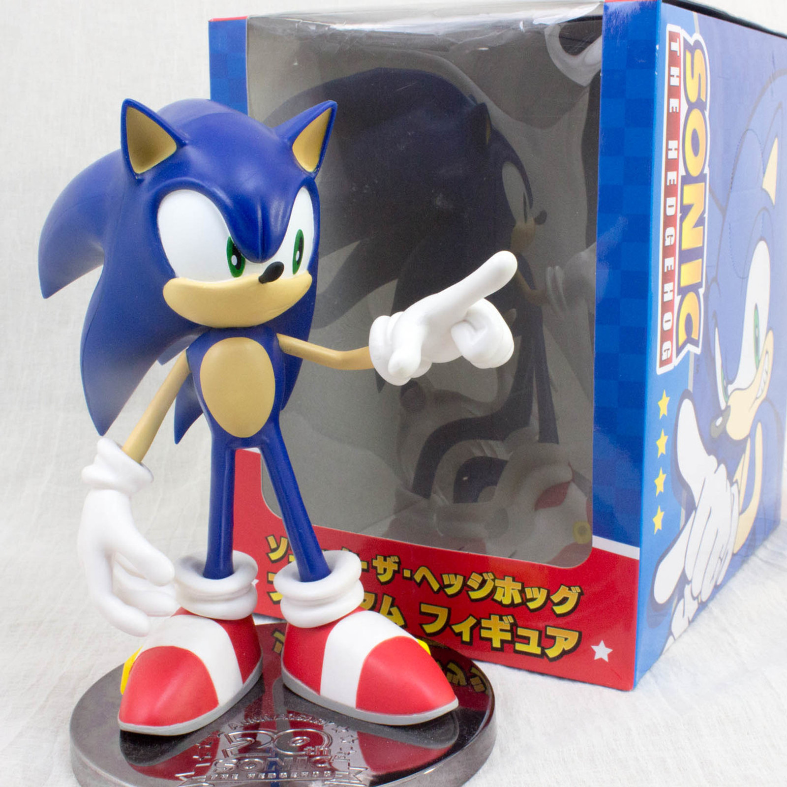 Sonic The Hedgehog 20th Anniversary Figure SEGA JAPAN GAME MEGA DRIVE