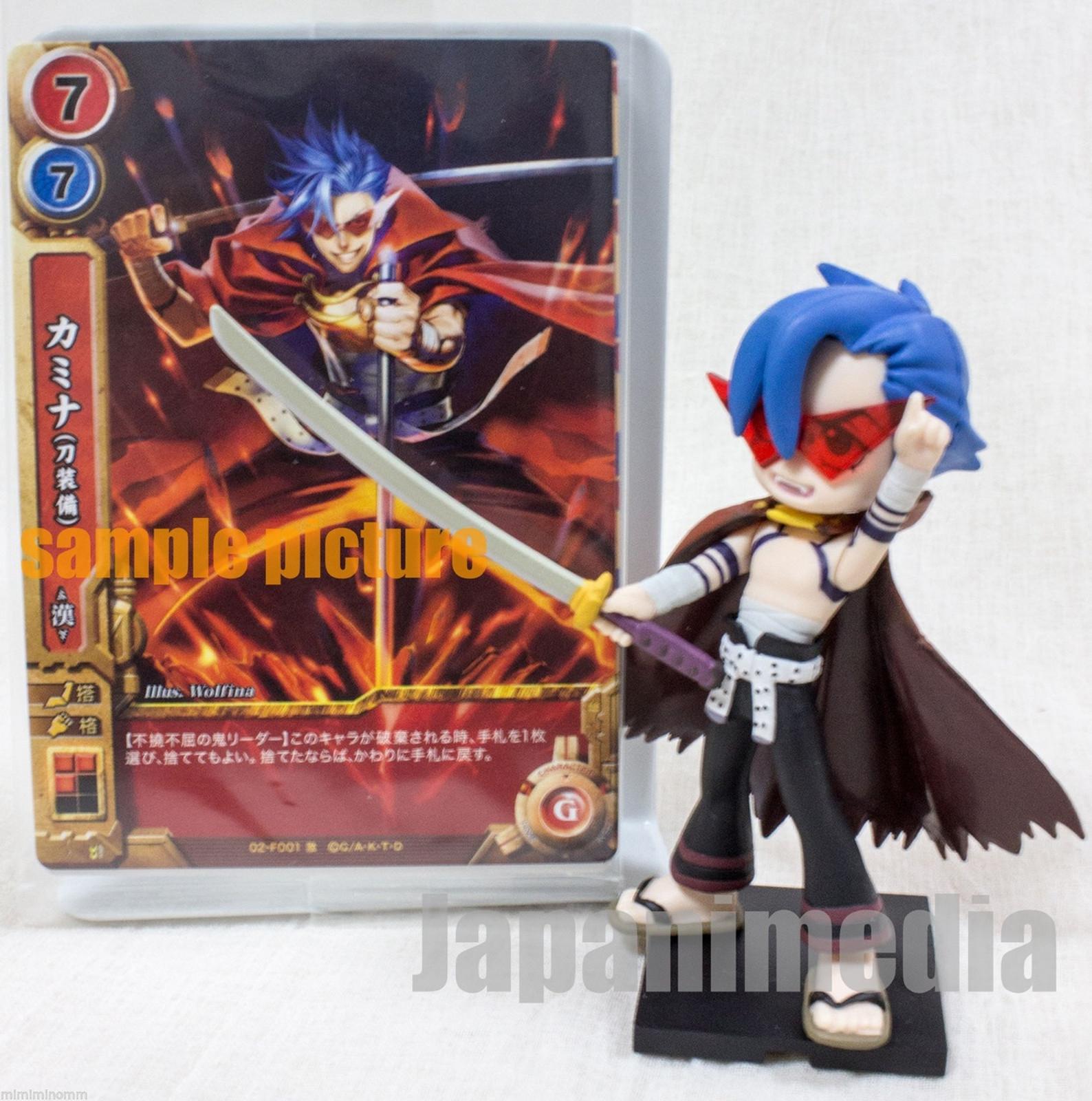 "Gurren Lagann Kamina 3"" Mini Figure & Cards JAPAN ANIME MANGA 2"