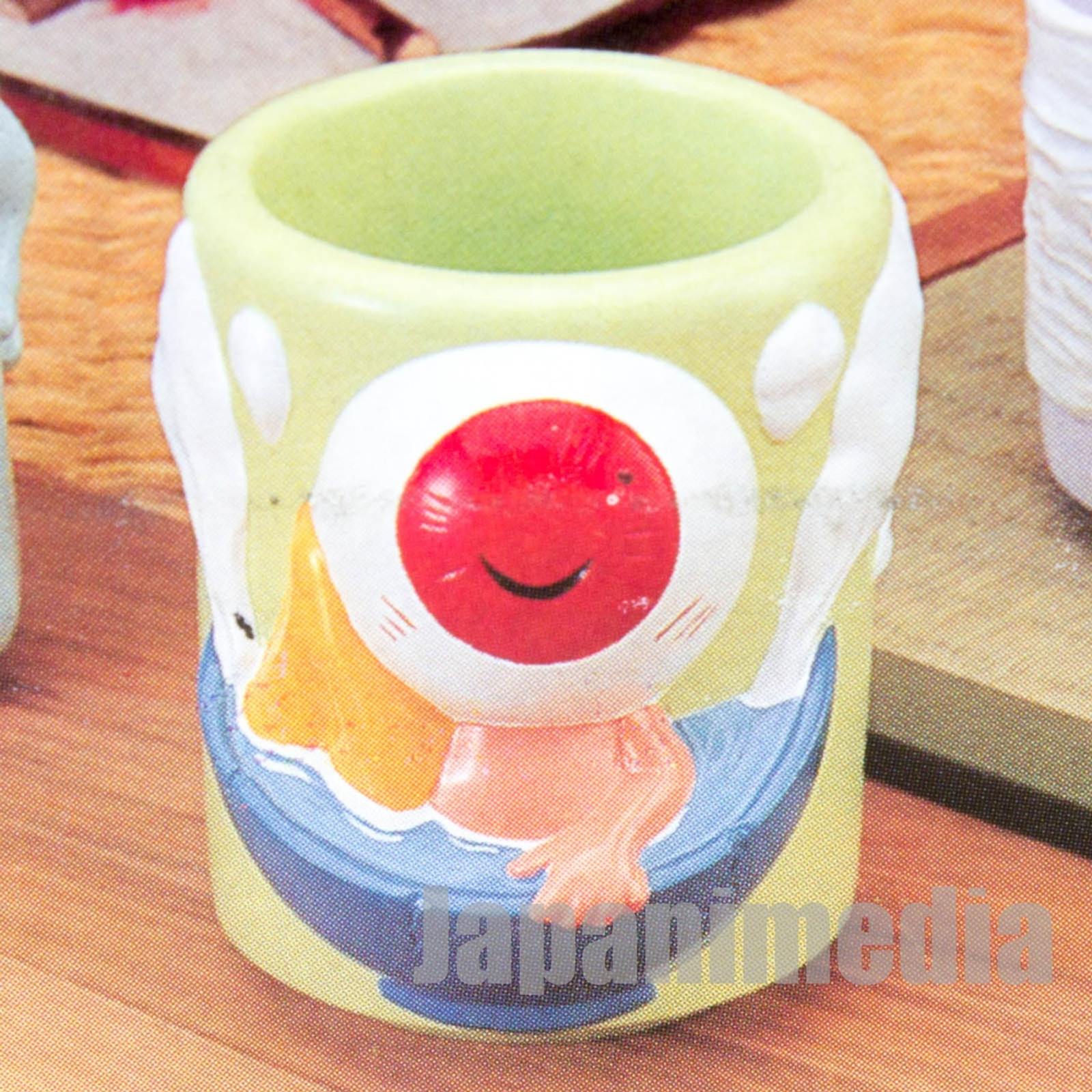 Gegege no Kitaro Medama Oyaji Ceramic Japanease Tea Cup Yunomi JAPAN ANIME