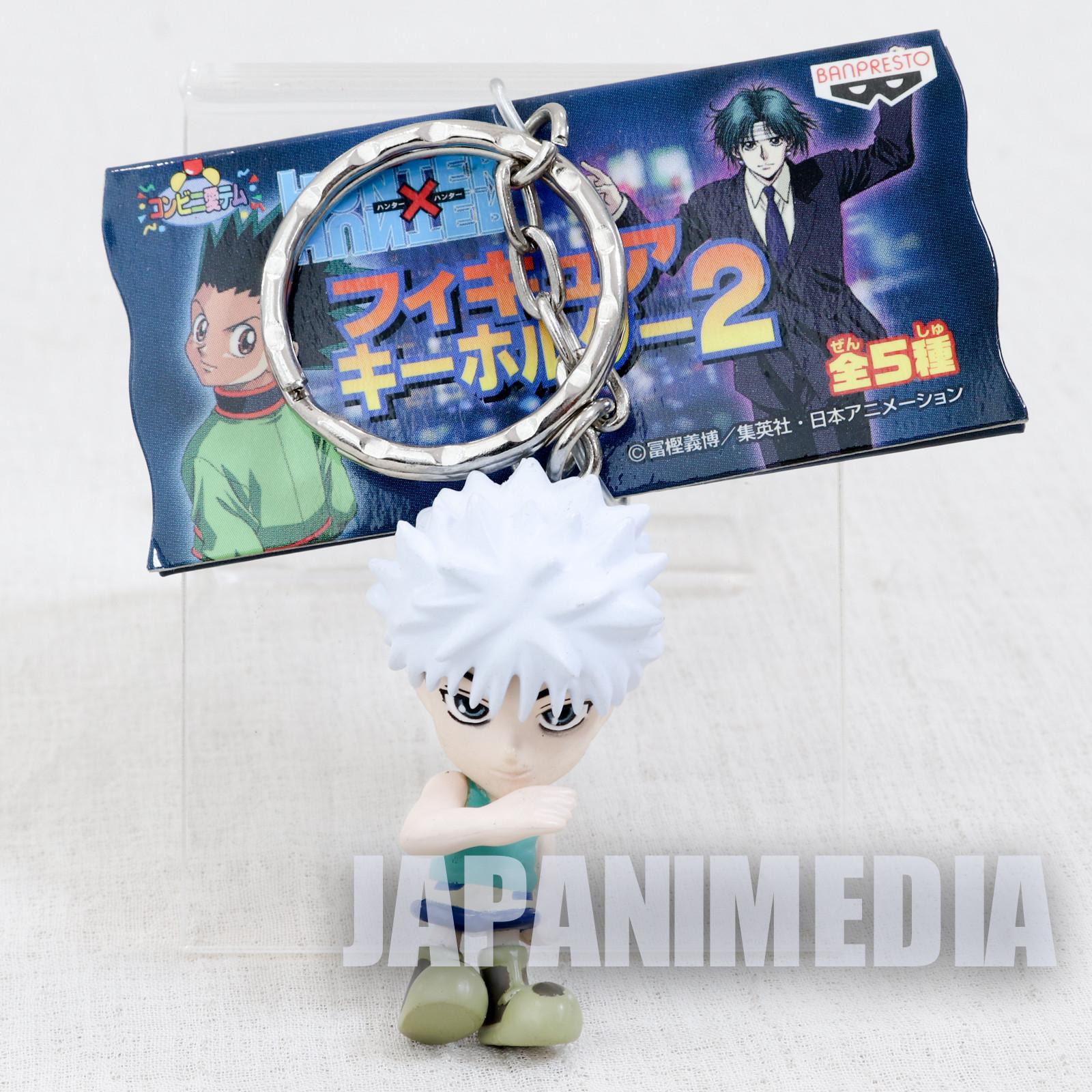 HUNTER x HUNTER Killua Mini Figure Key Holder Chain Banpresto JAPAN ANIME 2