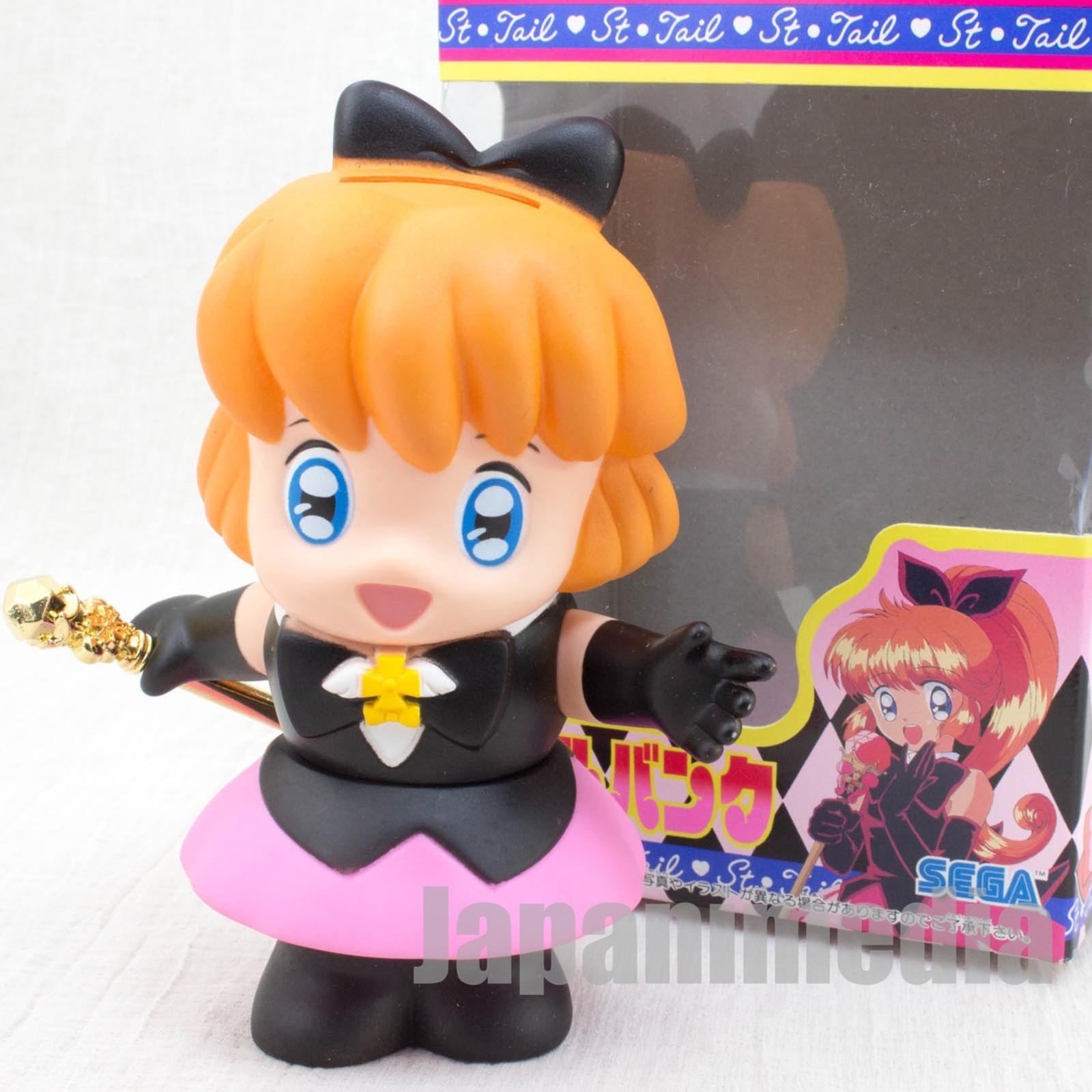 Saint Tail Meimi Haneoka Figure Doll Bank SEGA JAPAN ANIME