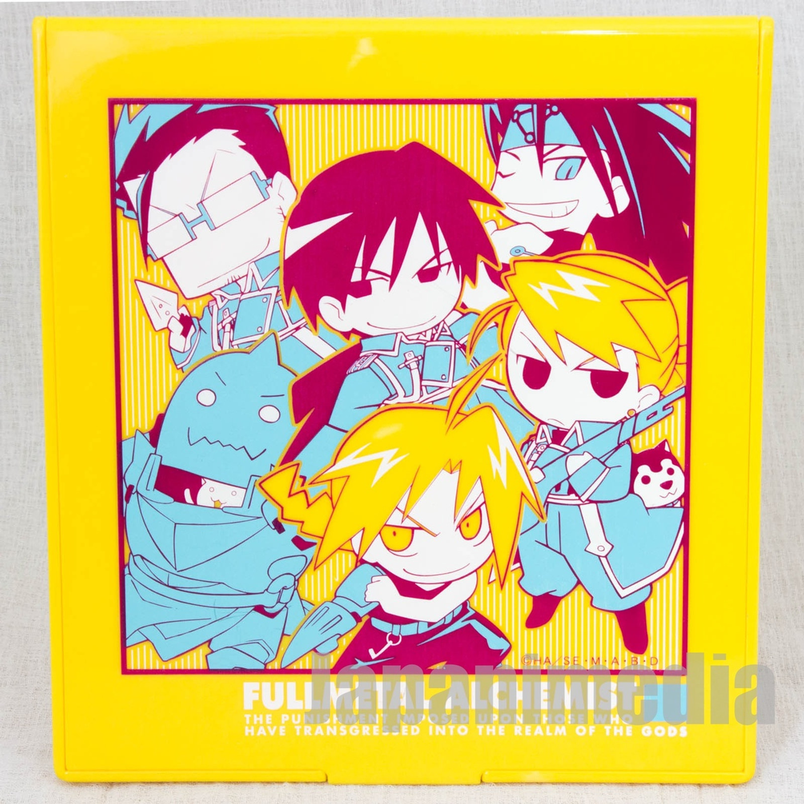 FullMetal Alchemist Folding Desktop Mirror [Edward / Alphonse / Roy / Hughes / Riza / Envy] Movic JAPAN ANIME