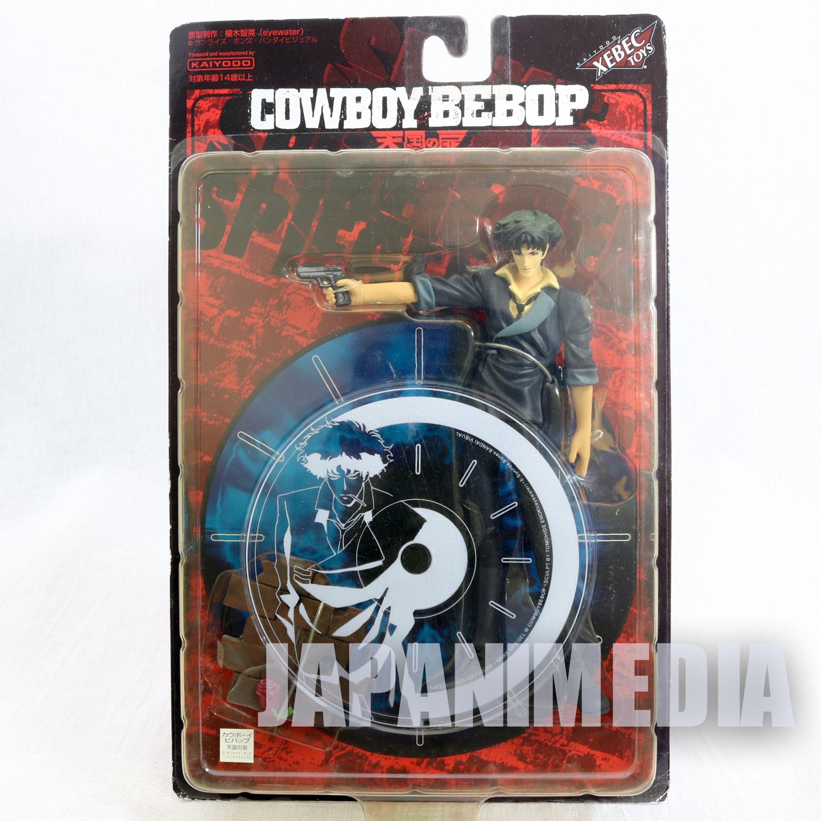 Cowboy Bebop Spike Spiegel Figure JCTC Kaiyodo JAPAN ANIME MANGA
