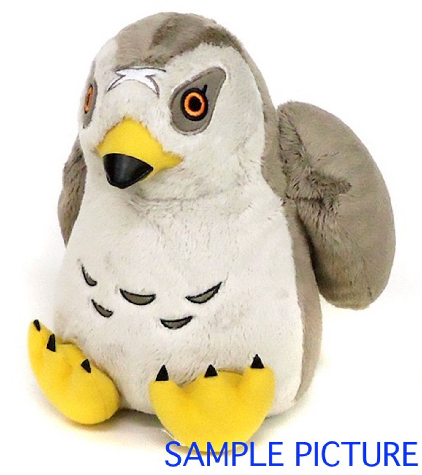 "The Heroic Legend of Arslan Azrail Hawk Plush Doll 8"" JAPAN ANIME MANGA"