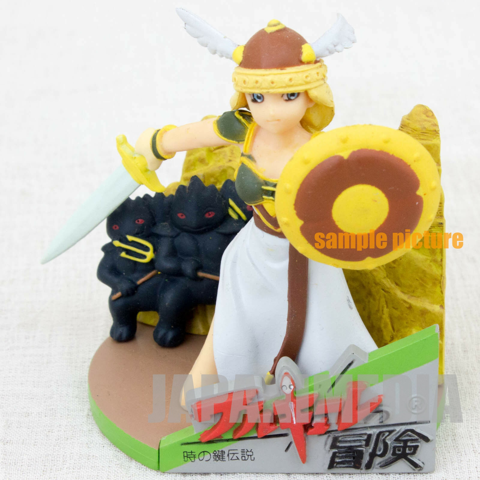 RARE! Namcole Valkyrie no Boken Package type Nam-colle Mini Figure Namco JAPAN NES FAMICOM