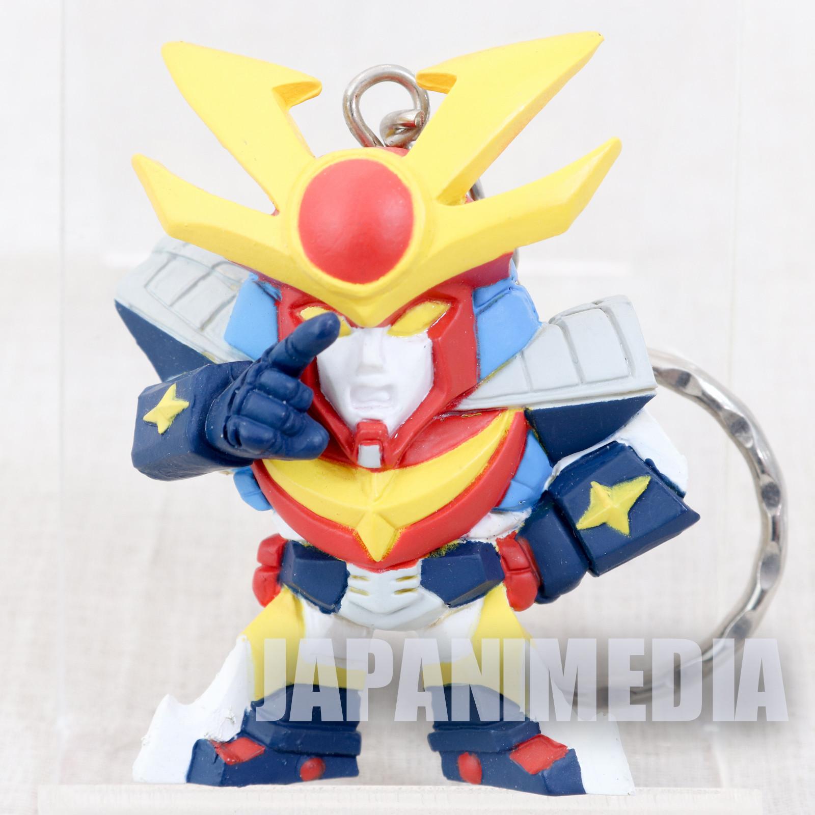Invincible Steel Man Daitarn 3 Figure Key Chain JAPAN ANIME MANGA