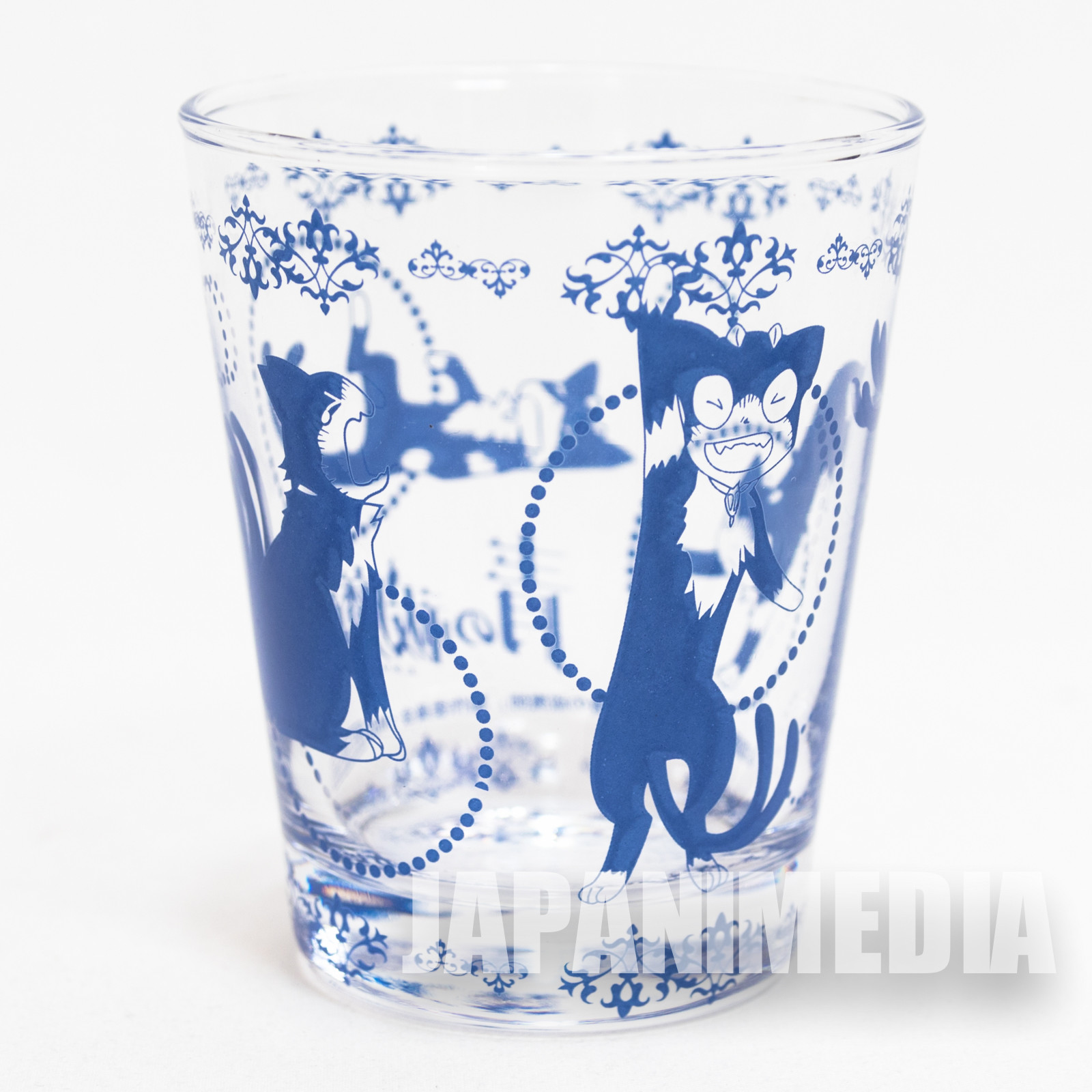 Blue Exorcist Kuro Cat Glass Animate JAPAN ANIME MANGA