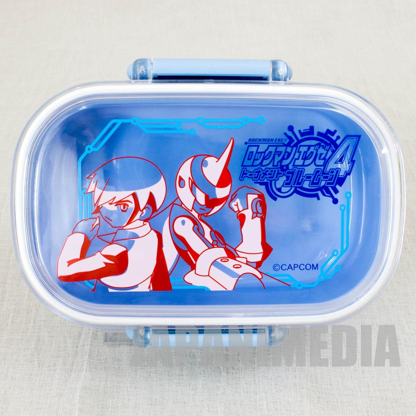 Rockman Exe 4 Tournament Blue Moon Lunch Box JAPAN GAME CAPCOM Mega man