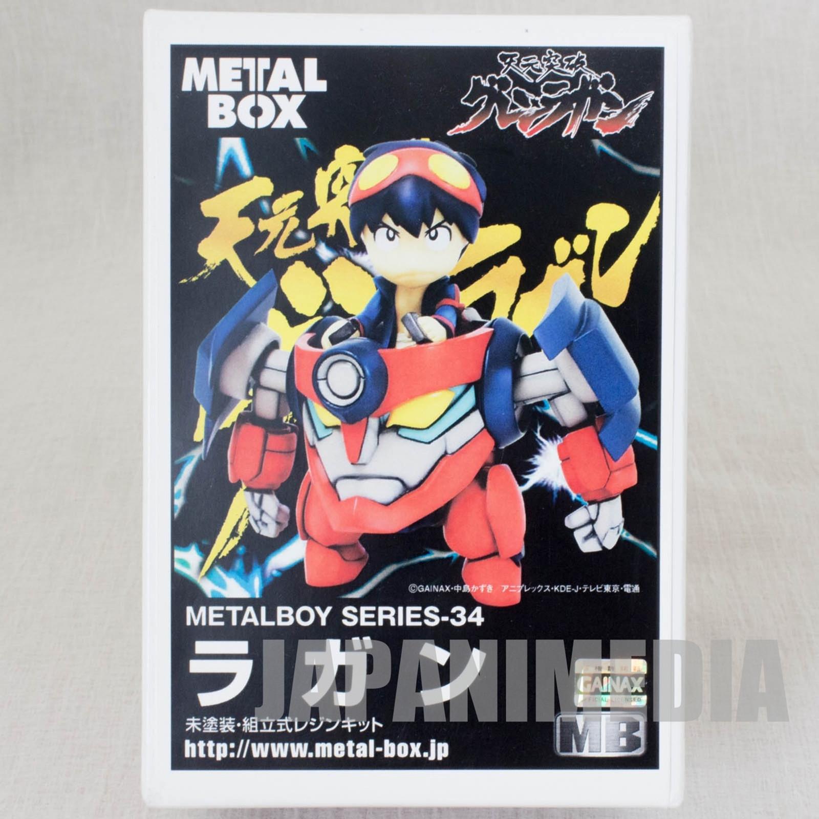 RARE! Gurren Lagann LAGANN Metal Boy Series-34 Resin Cast Model Kit JAPAN ANIME