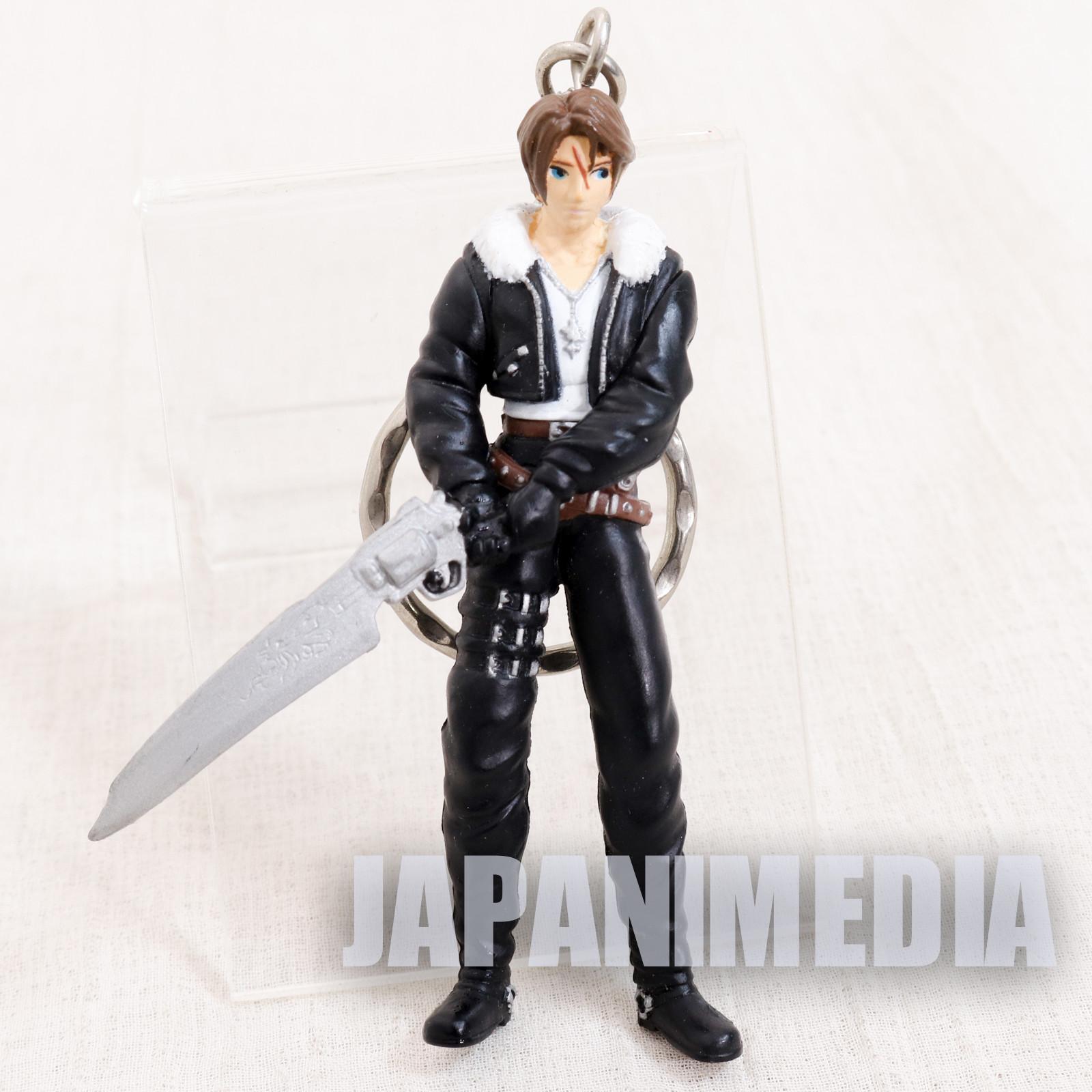 Final Fantasy VIII 8 Squall Leonhart Figure Key Chain Banpresto JAPAN SUARE ENIX
