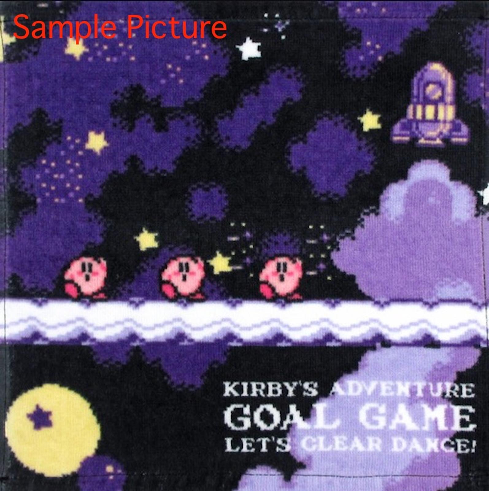 Kirby Super Star Mini Towel Goal Game Ver. Banpresto JAPAN GAME