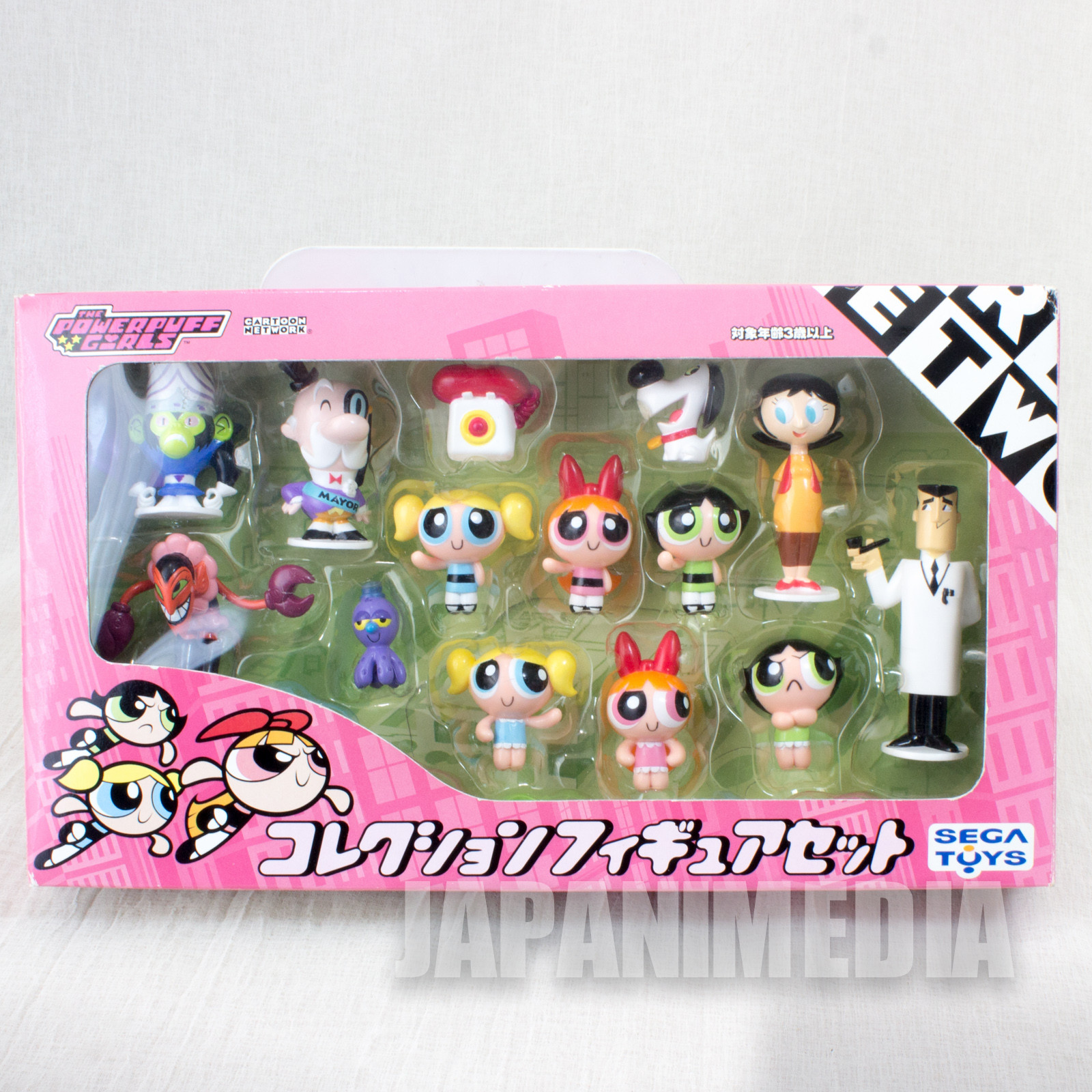 Powerpuff Girls Collection Figure Set 14pc SEGA Toys Cartoon Network JAPAN ANIME