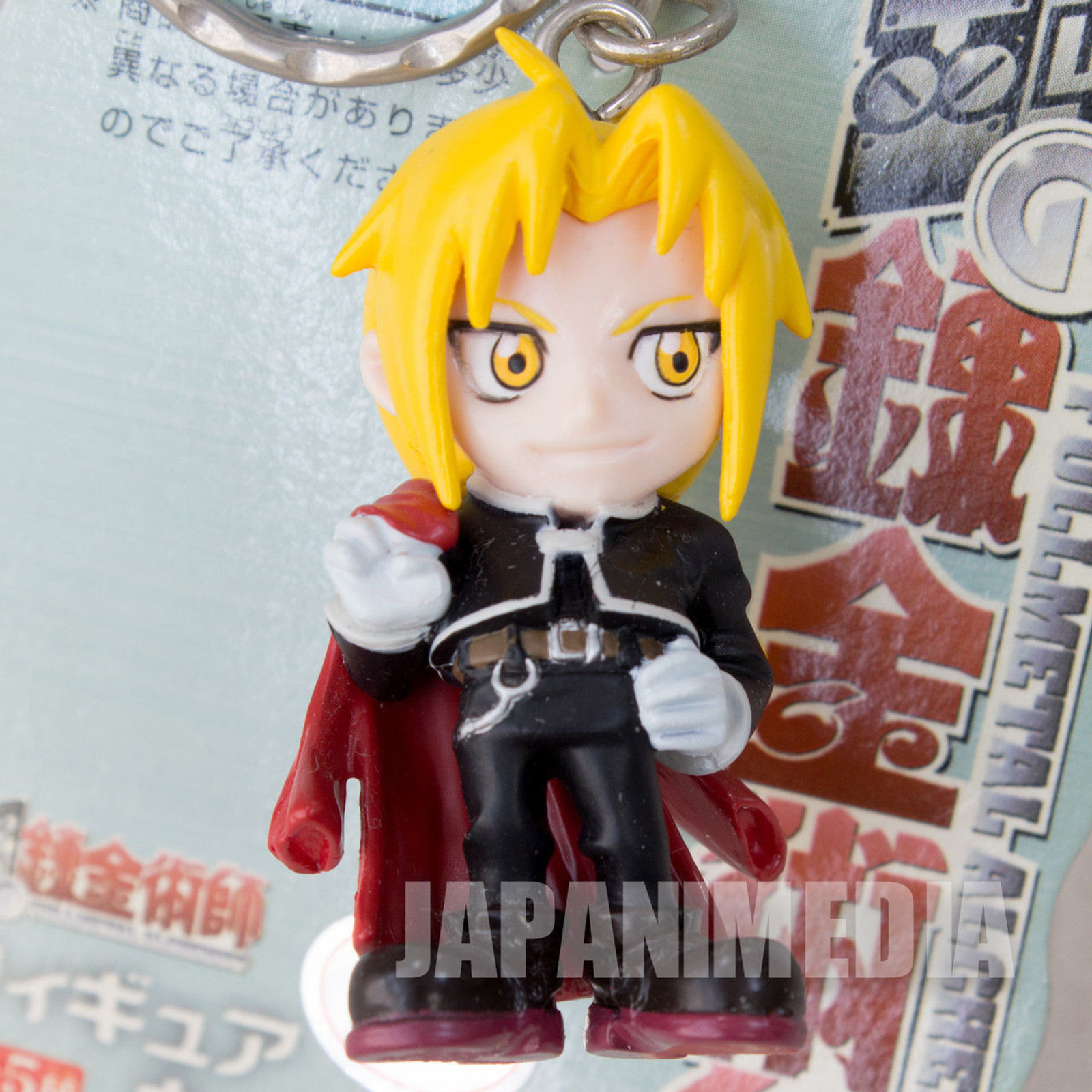 FullMetal Alchemist Edward Elric Figure Key Chain JAPAN ANIME
