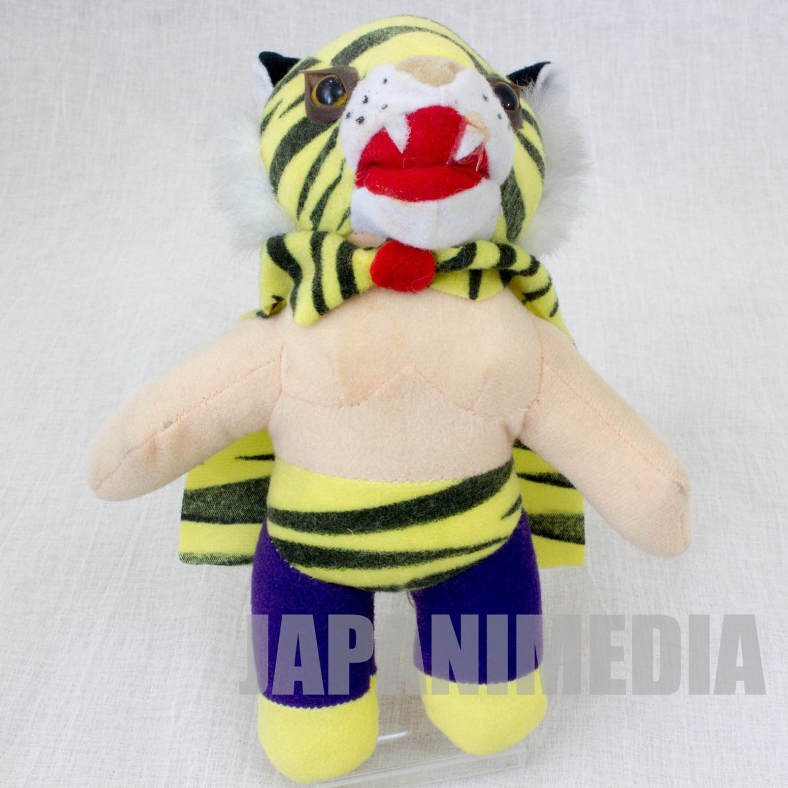 Tiger Mask Plush Doll JAPAN ANIME MANGA Pro Wrestling