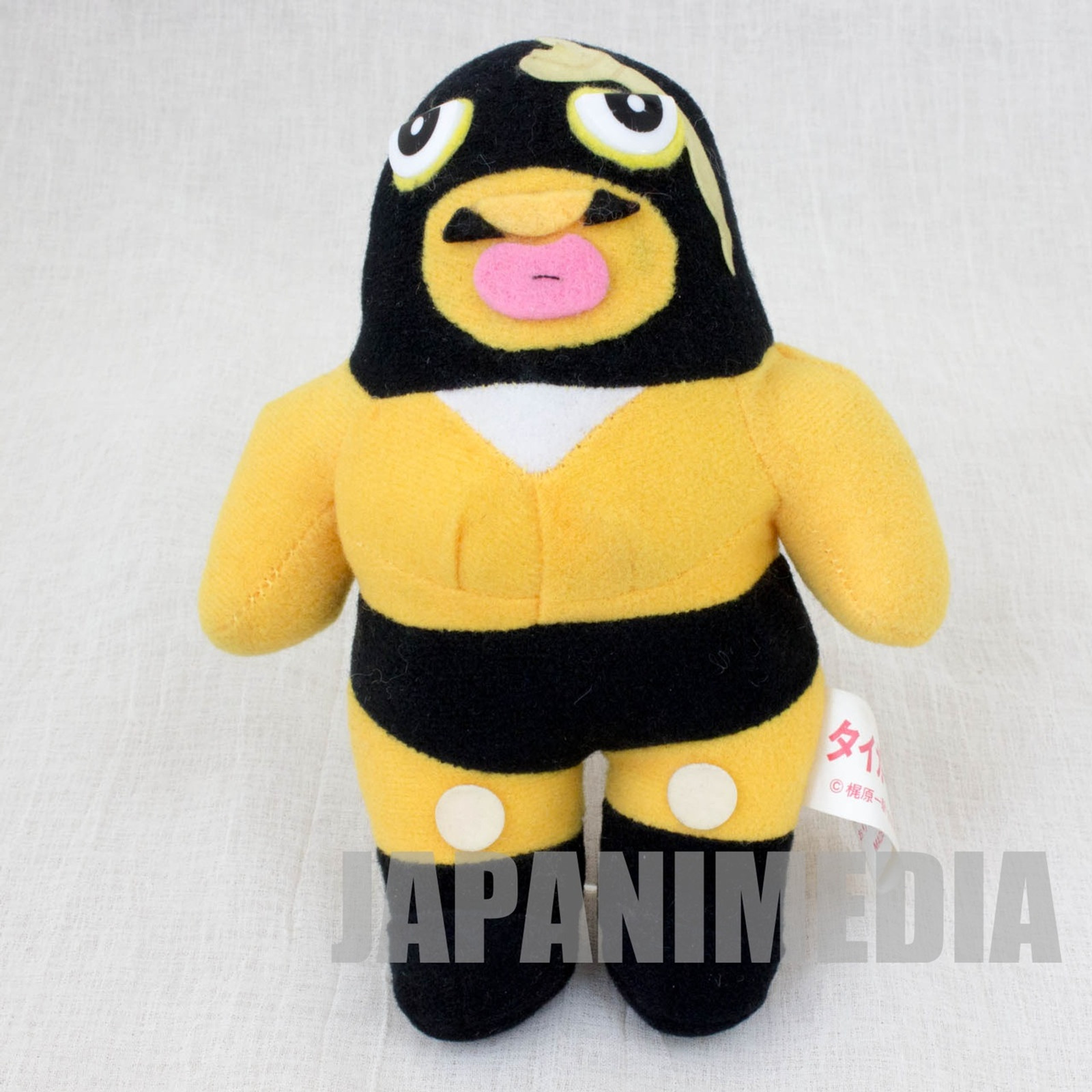 Tiger Mask Black Python Plush Doll JAPAN ANIME MANGA Pro Wrestling